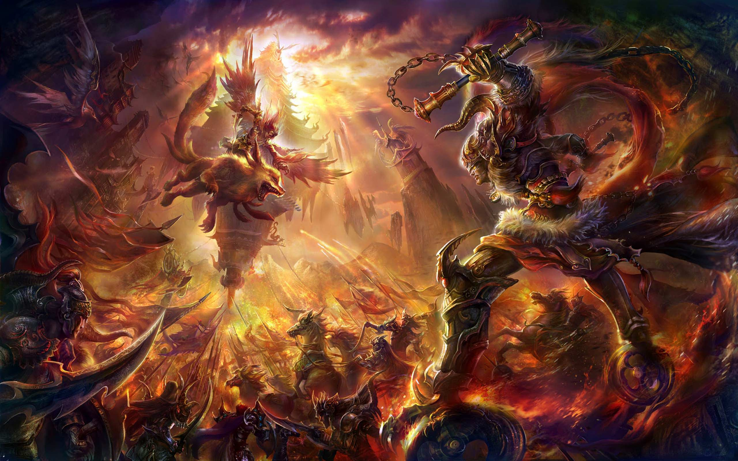 Epic Battle Wallpapers Top Free Epic Battle Backgrounds Wallpaperaccess