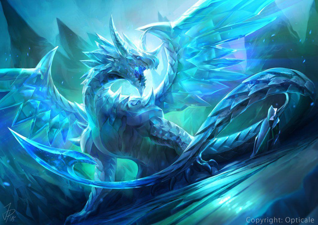 Crystal Dragon Wallpapers Top Free Crystal Dragon