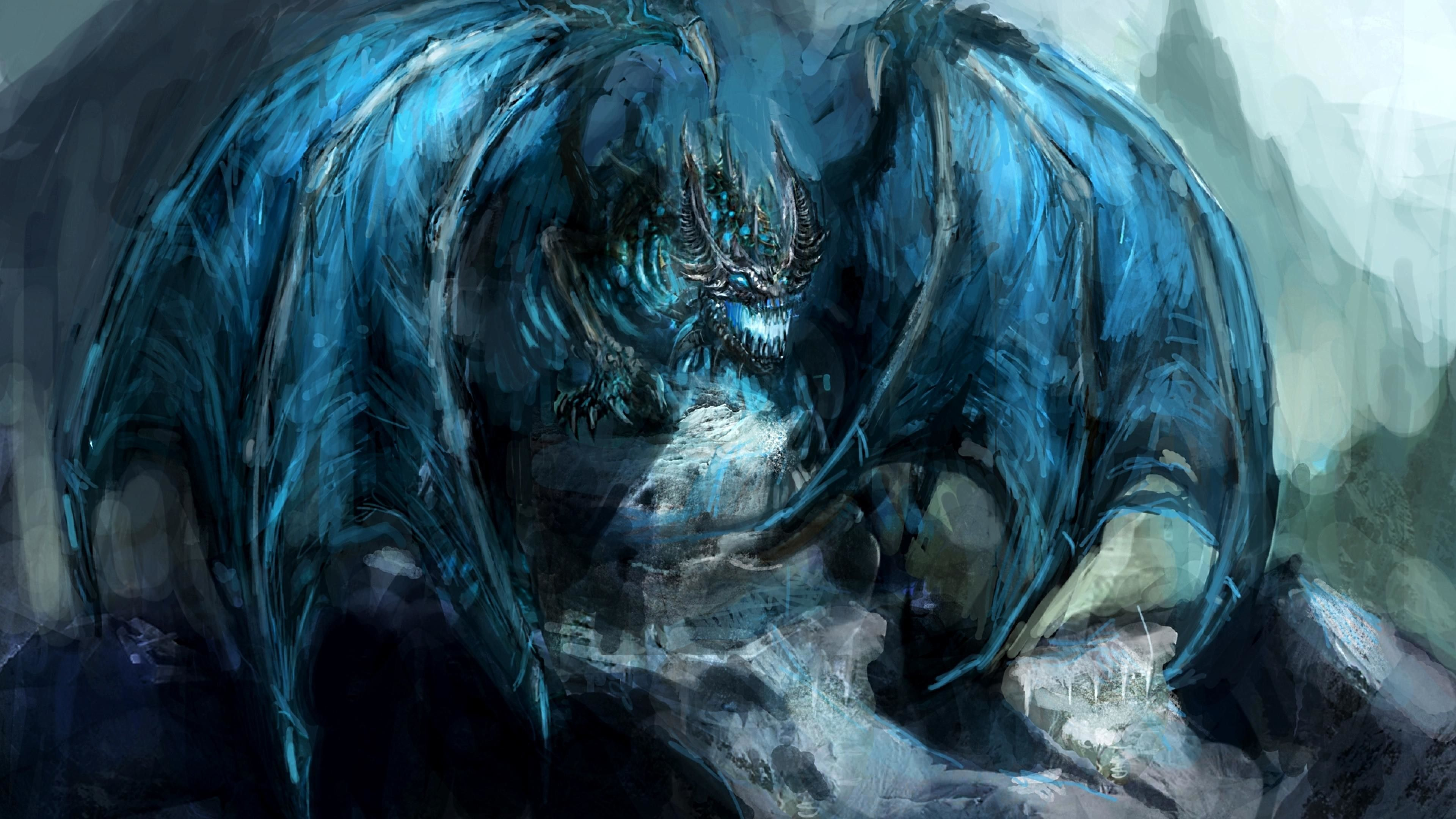 52 Best Free Crystal Dragon Wallpapers