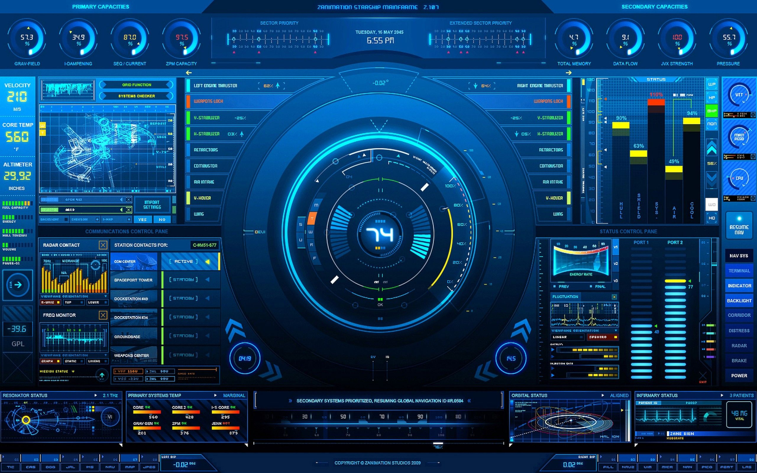 Futuristic Technology Wallpapers Top Free Futuristic