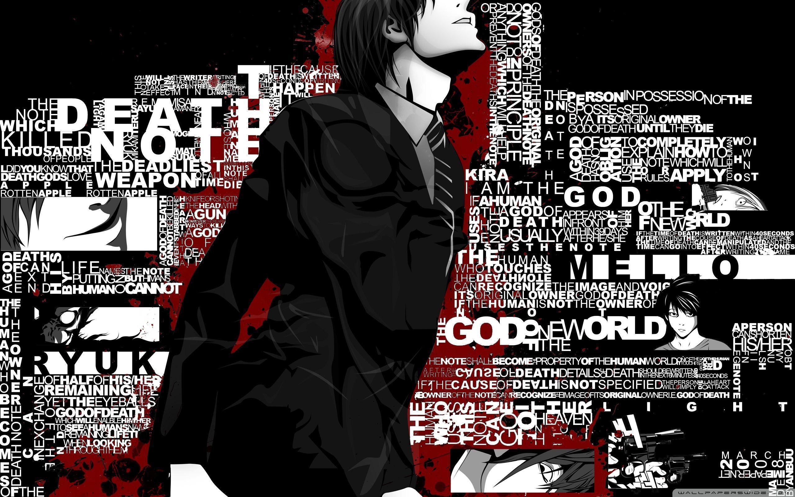 Hình nền Death Note 2560x1600