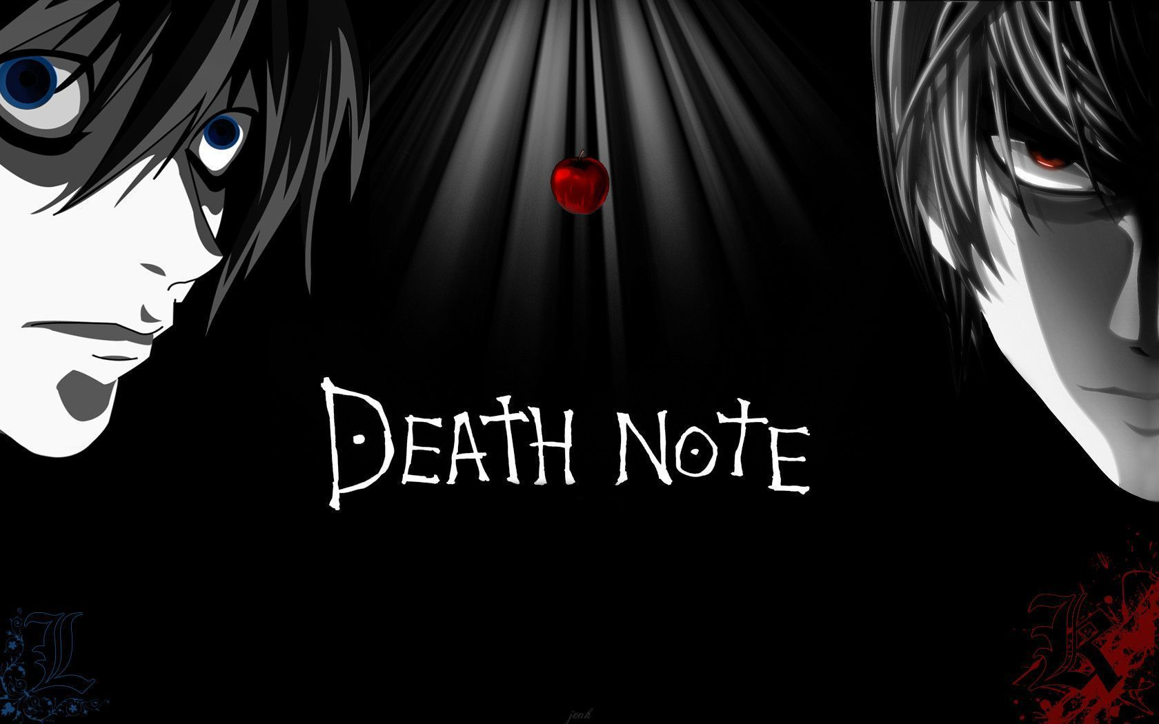 Hình nền Anime Death Note 1680x1050