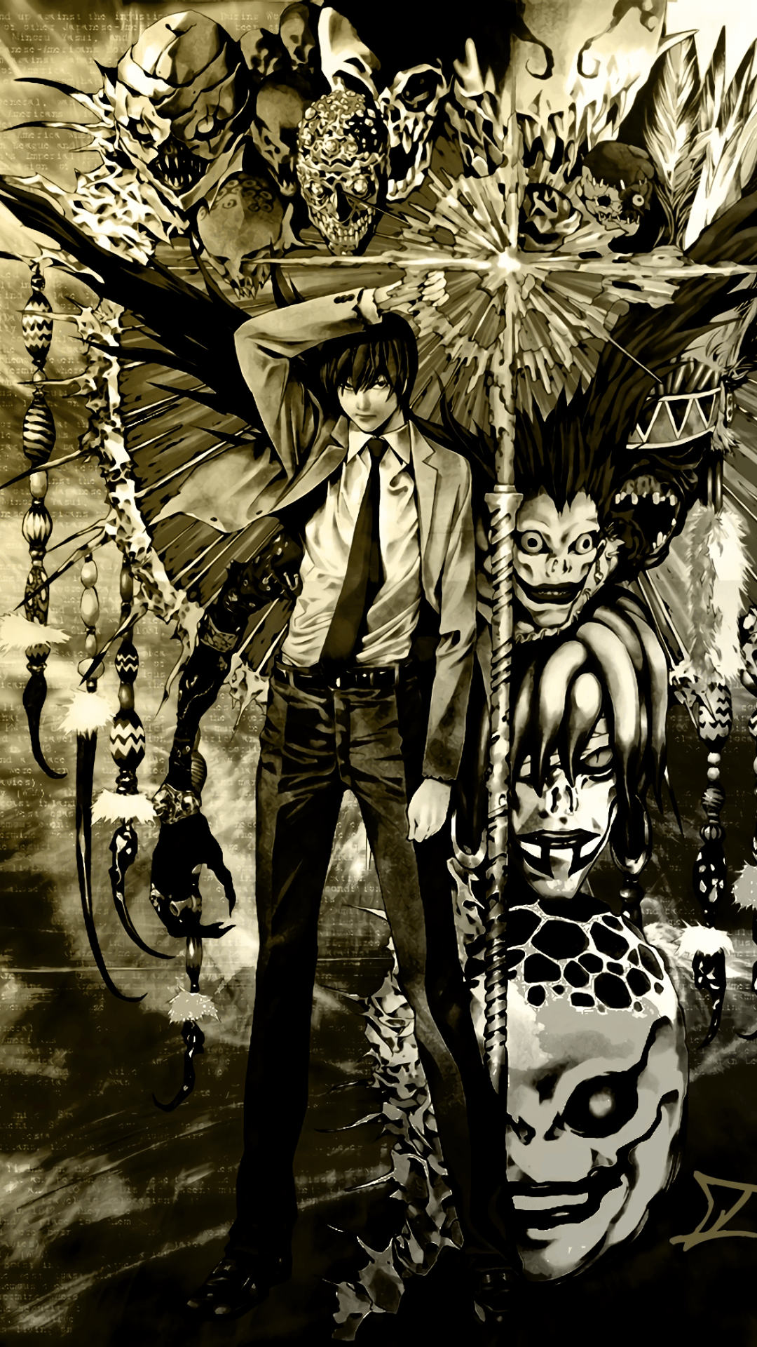 Death Note Phone Wallpapers Top Free Death Note Phone