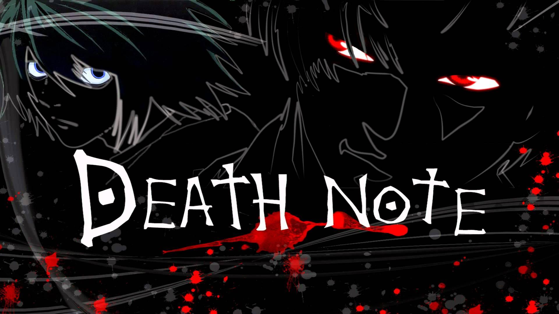 1920x1080 Death Note hình nền 15
