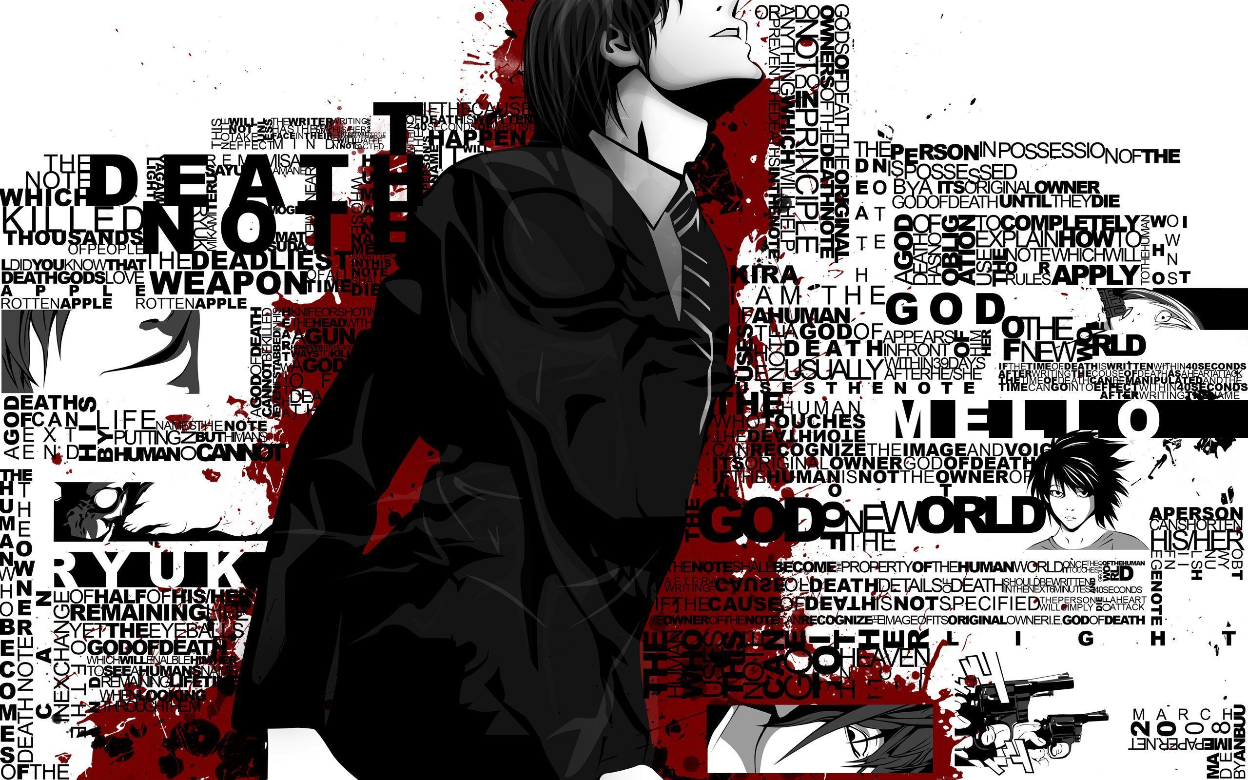 2560x1600 LƯU Ý CHẾT - Obata Takeshi - Hình nền HD - Anime Zerochan