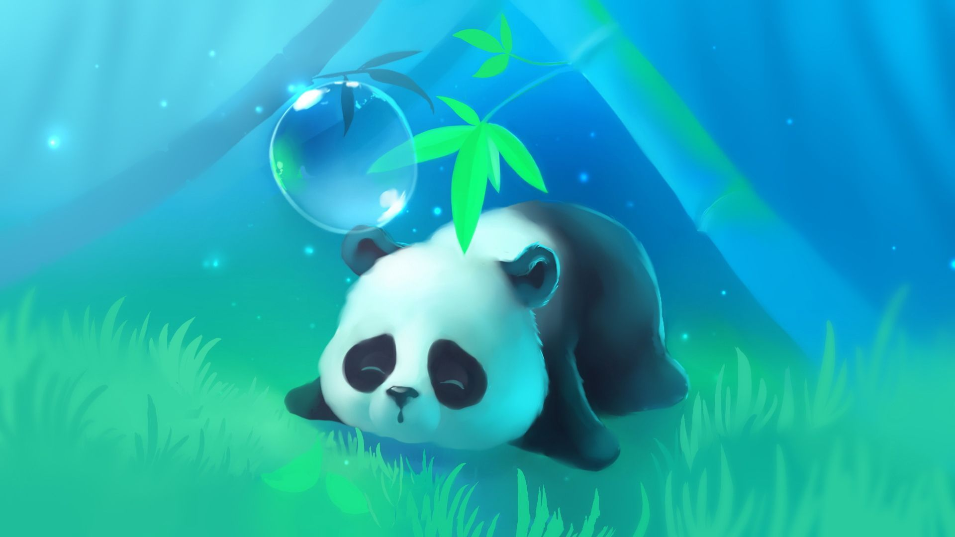 Cute Panda Desktop Wallpapers - Top