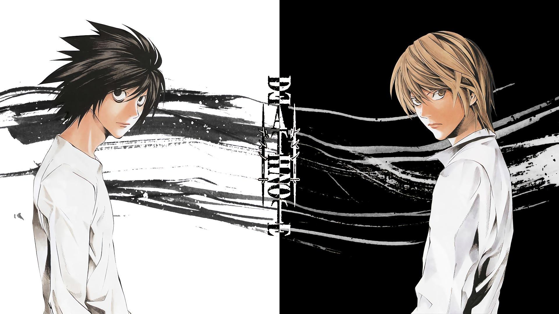 1920x1080 L and Light Death Note hình nền