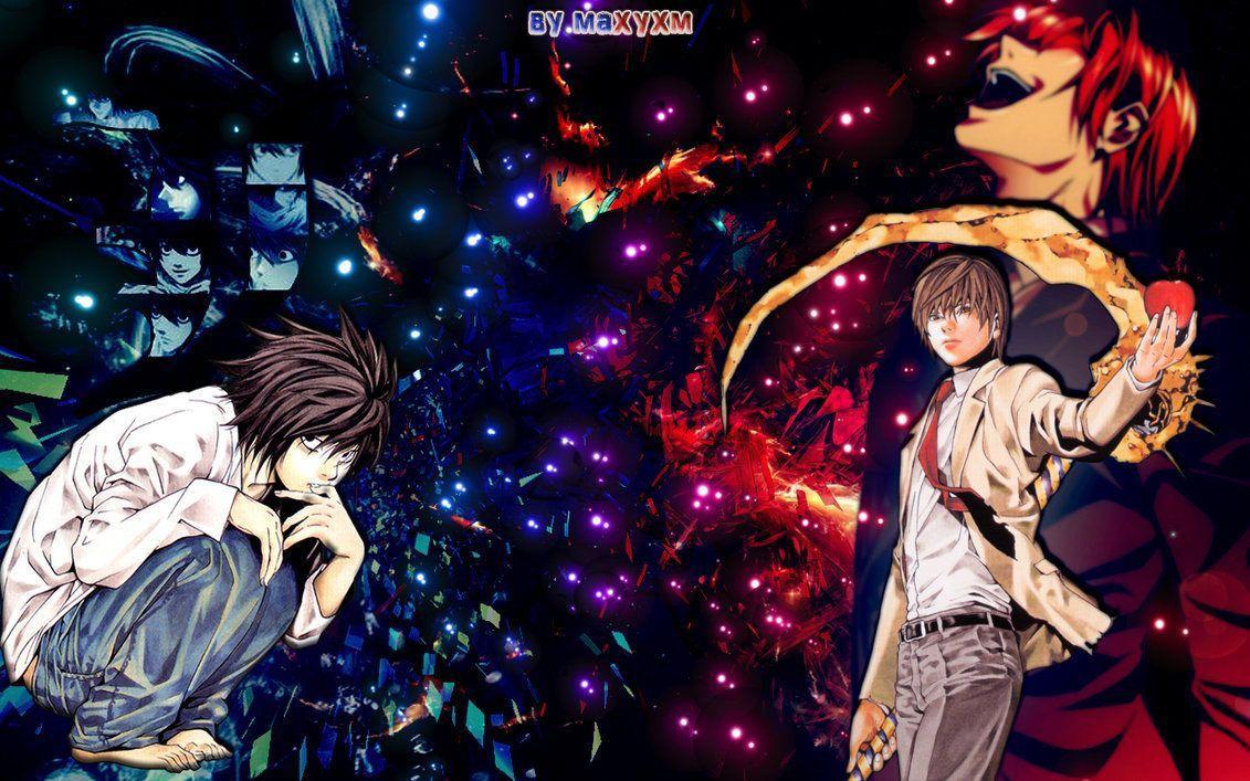 Hình nền Death Note 1131x707 Kira Vs L - fedinvestonline.  Epic Car