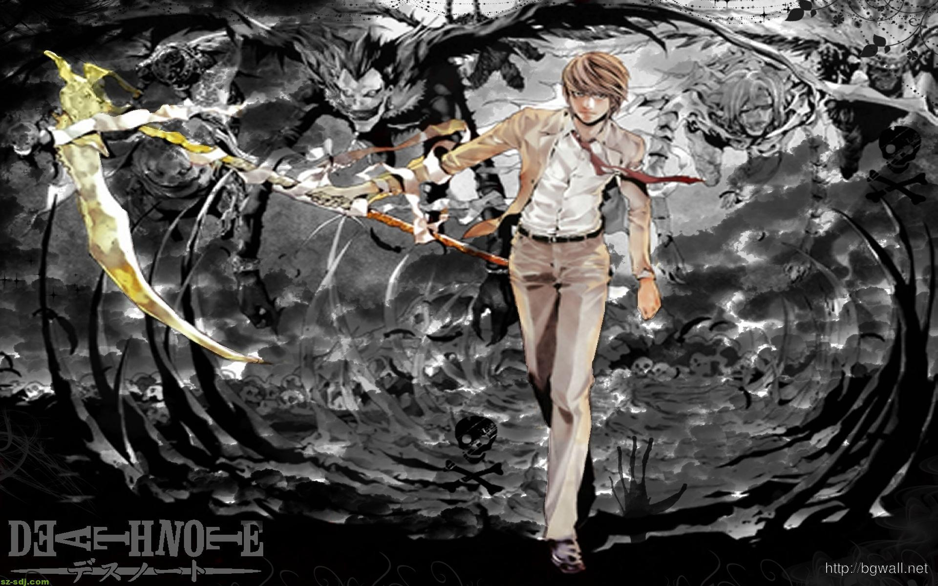 1920x1200 Death Note Hình nền Manga Art HD - Hình nền nền HD