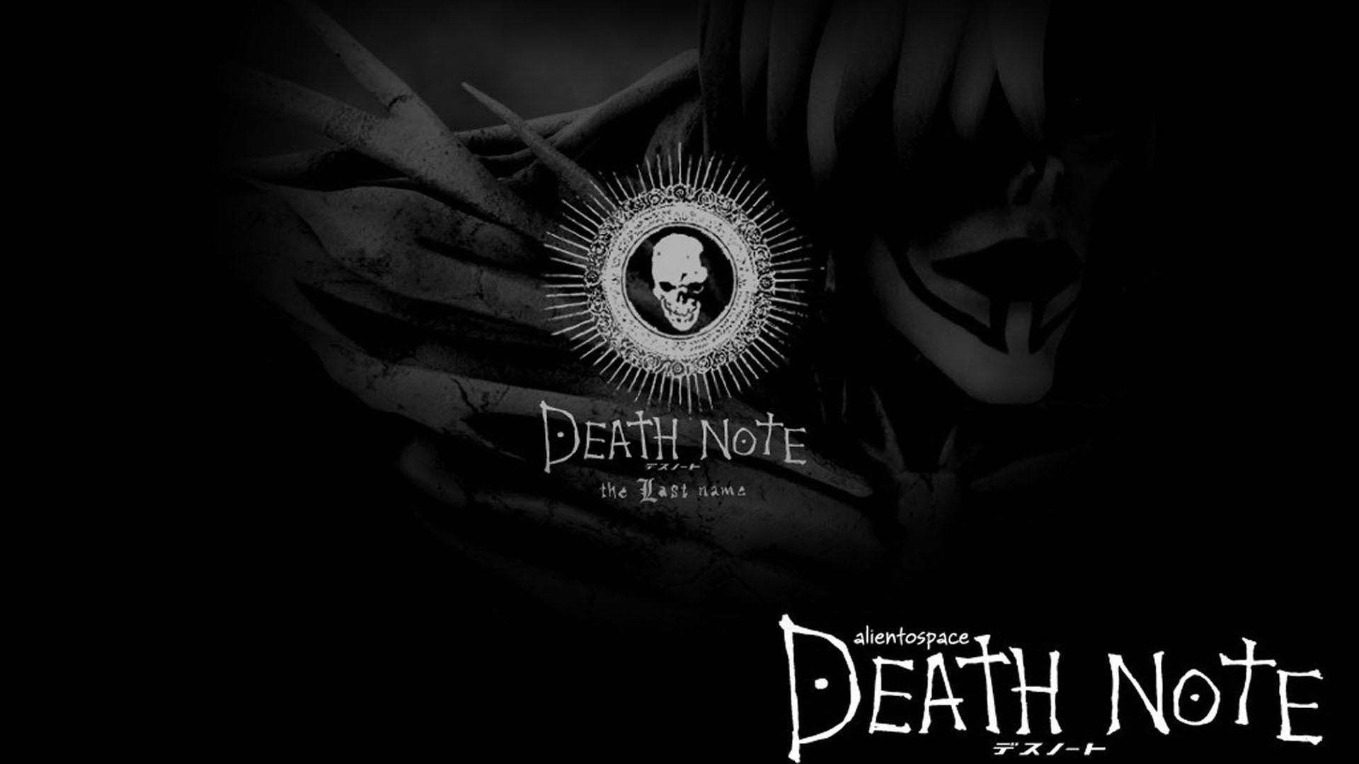 1920x1080 Death Note hình nền chất lượng cao