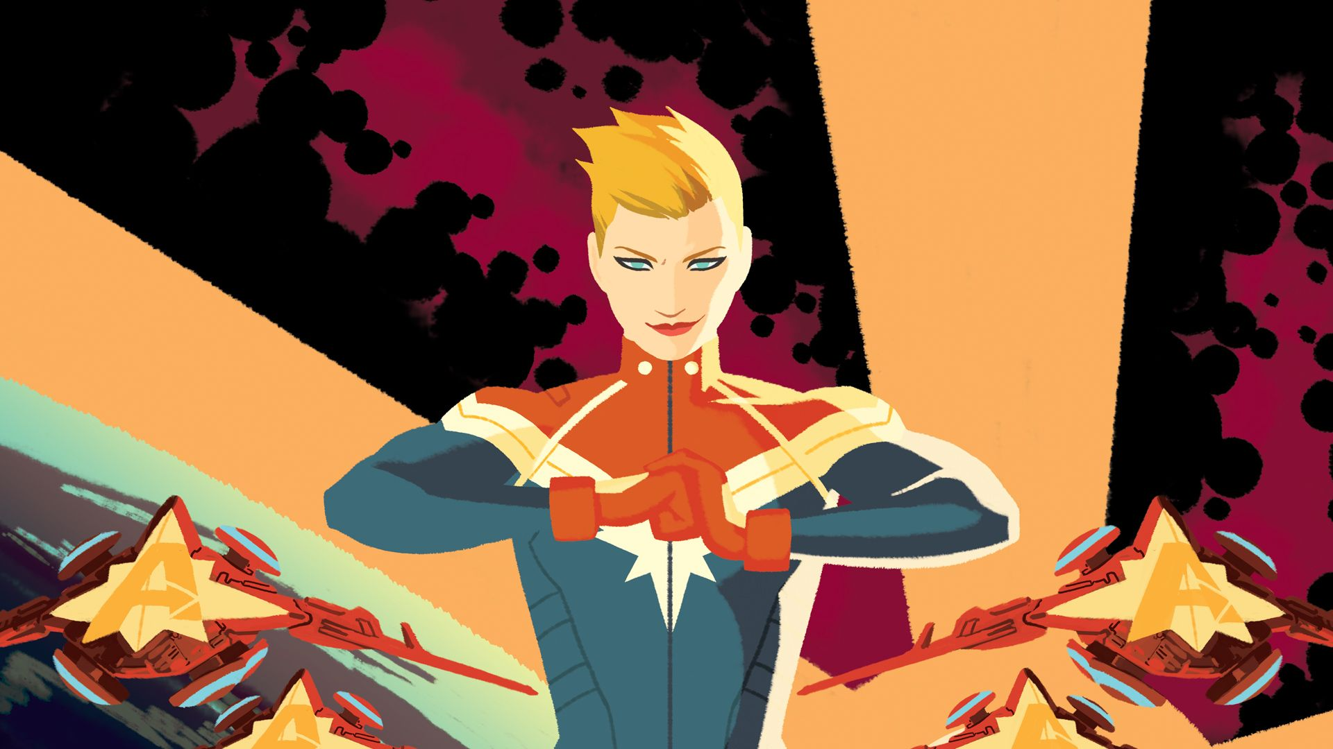 Captain Marvel Wallpapers Top Free Captain Marvel Backgrounds Wallpaperaccess