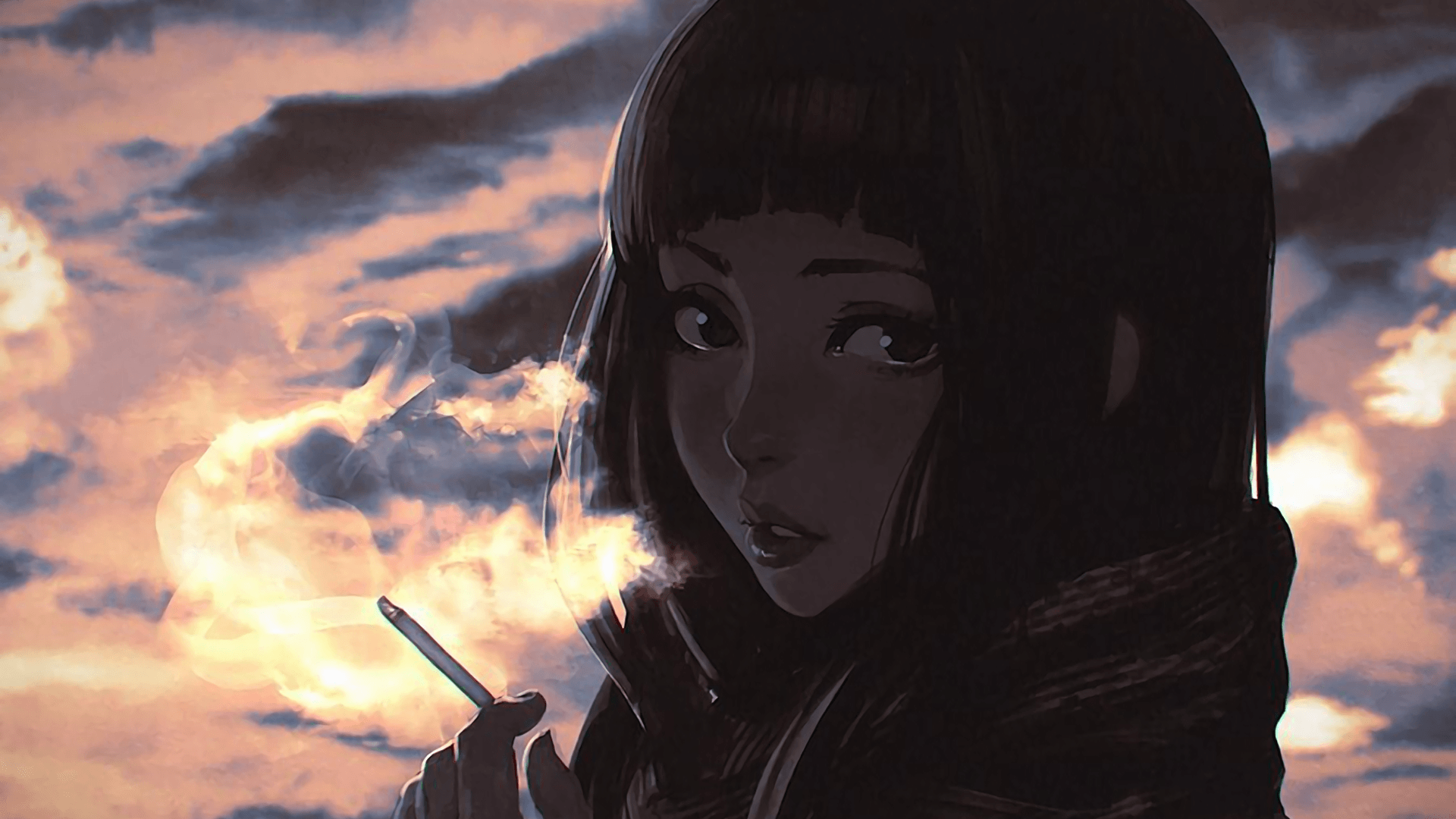Anime Girl Smoking Wallpapers - Top Free Anime Girl Smoking