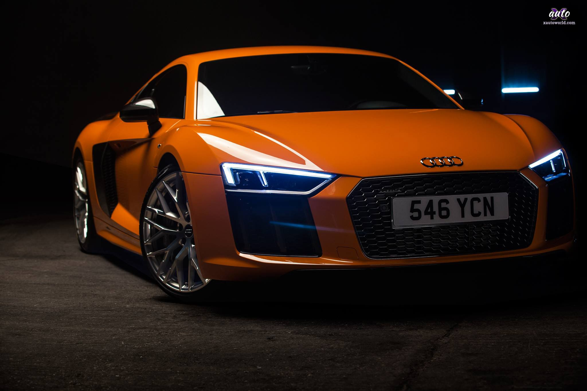 Audi R8 Orange Wallpapers Top Free Audi R8 Orange Backgrounds Wallpaperaccess