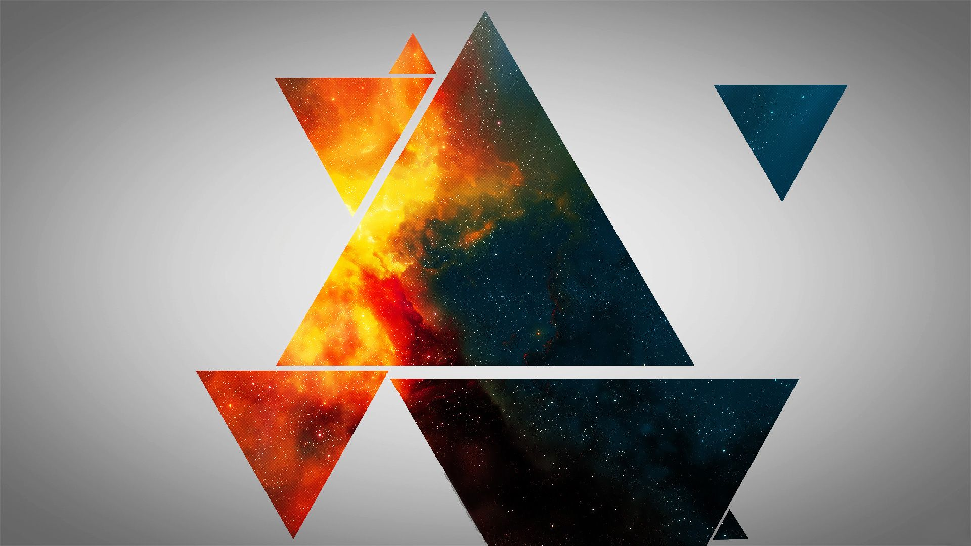 Abstract Wallpaper Triangles