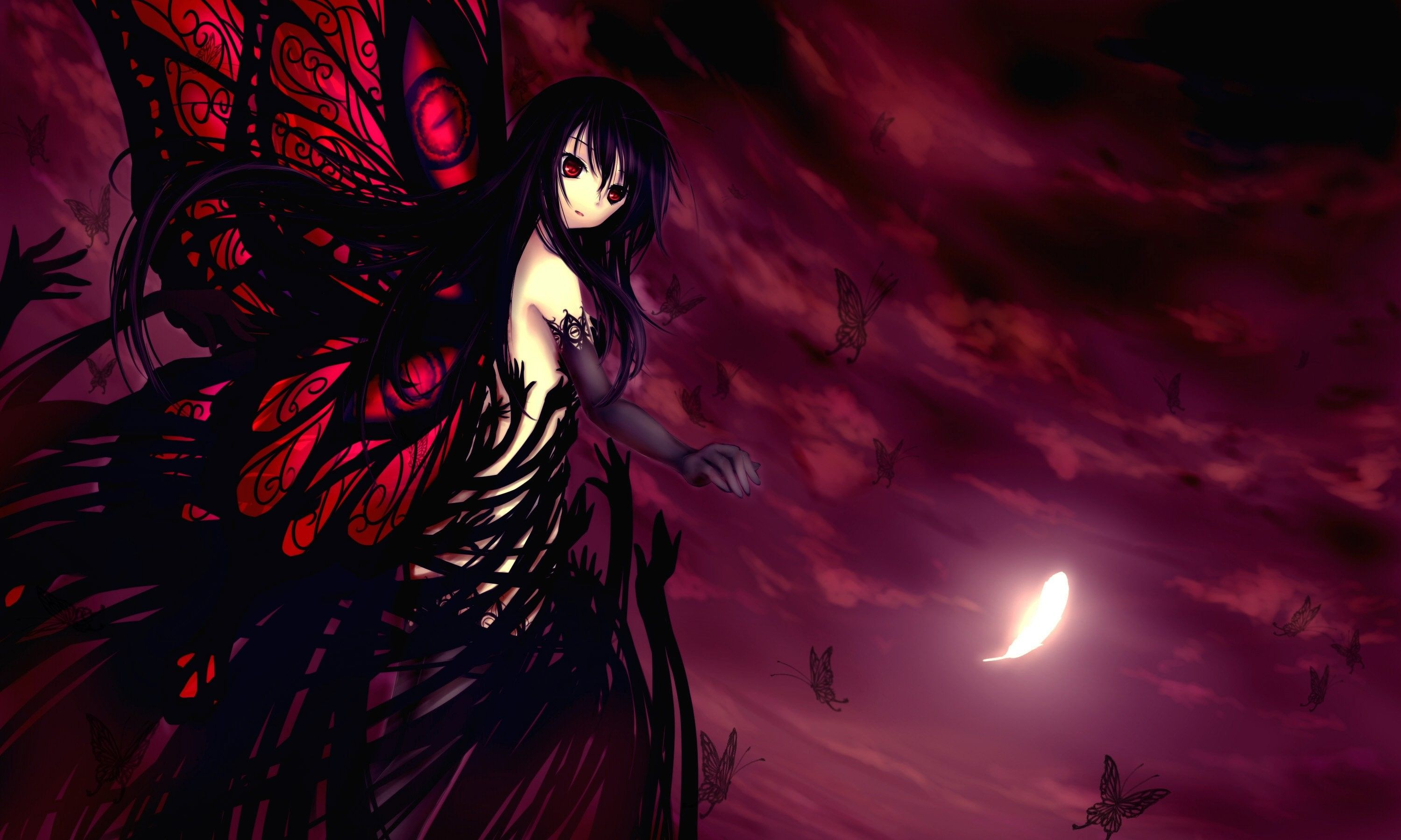 Gothic Anime Angel Wallpapers Top Free Gothic Anime Angel
