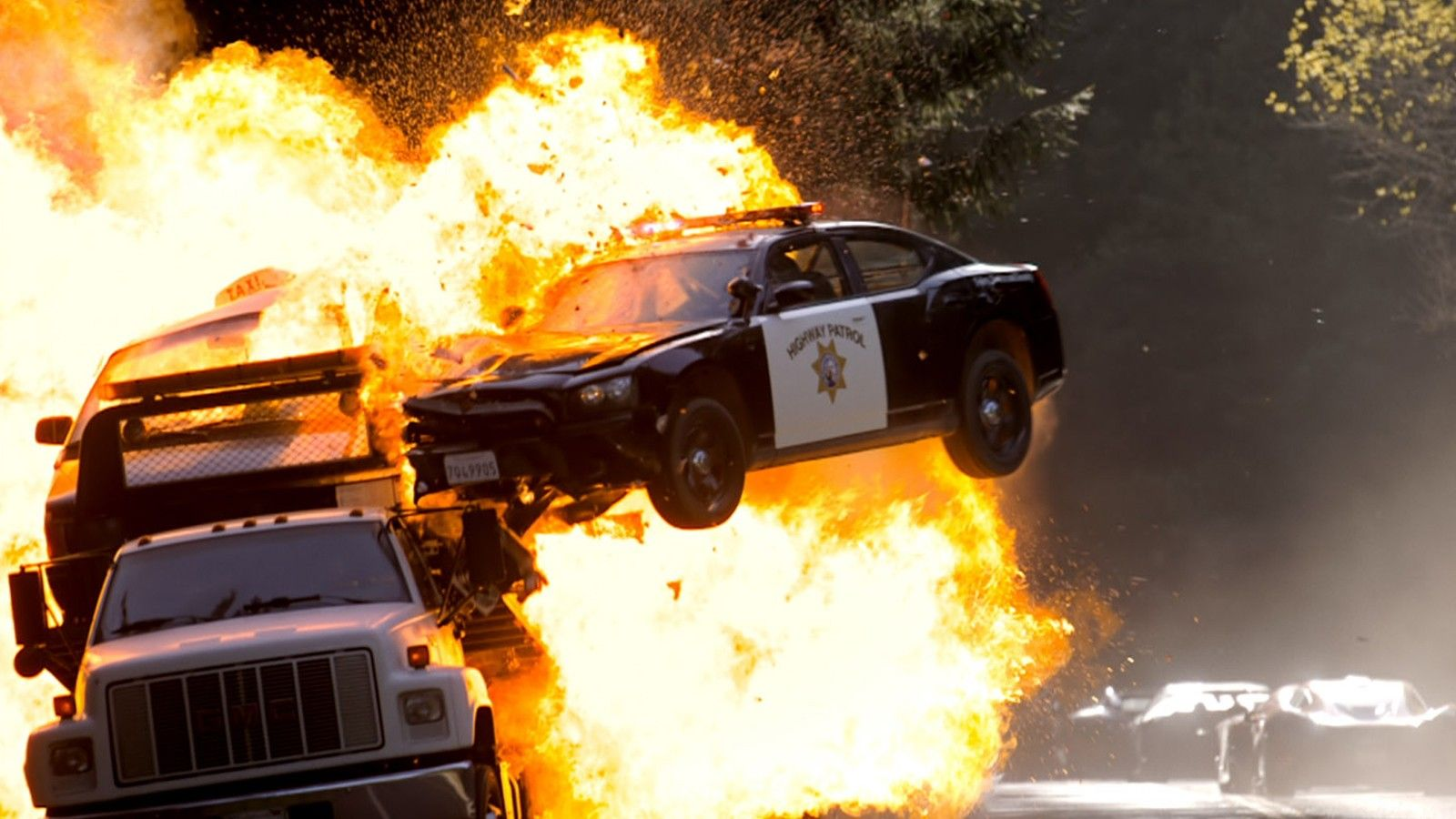 Unrealistic things, Cars exploding after a gunshot at the gas tank. Although cars burn intensely, explosions are rare and one of those things that only happen in movies.