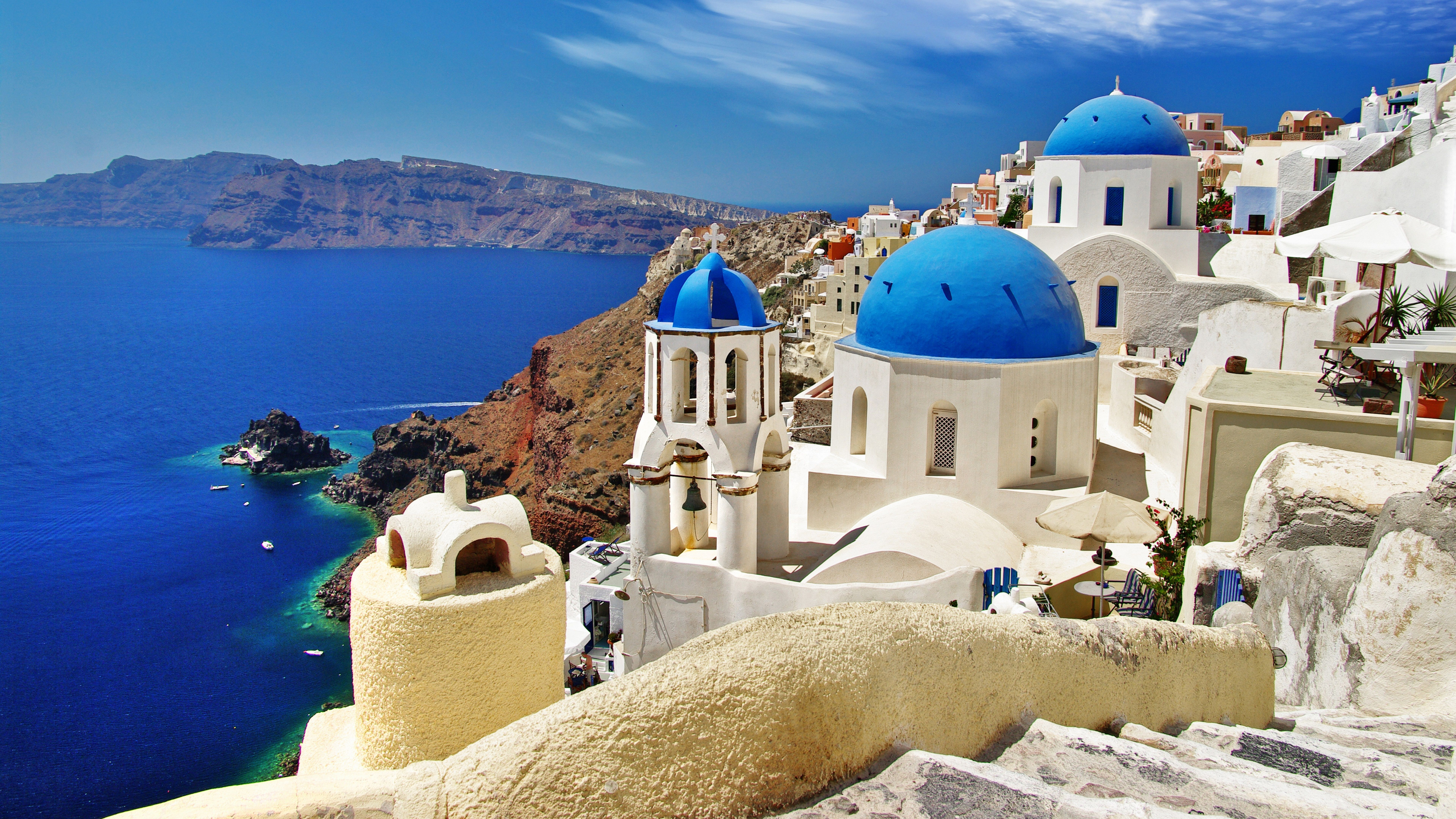 Santorini Greece Wallpapers Top Free Santorini Greece