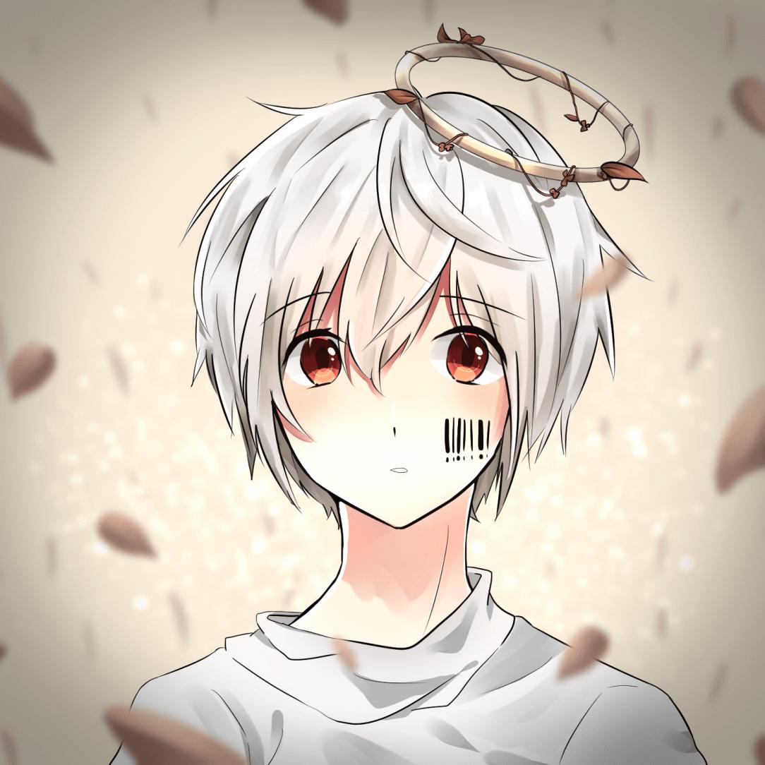 1084x1084 Hình nền Anime Boy Dễ thương