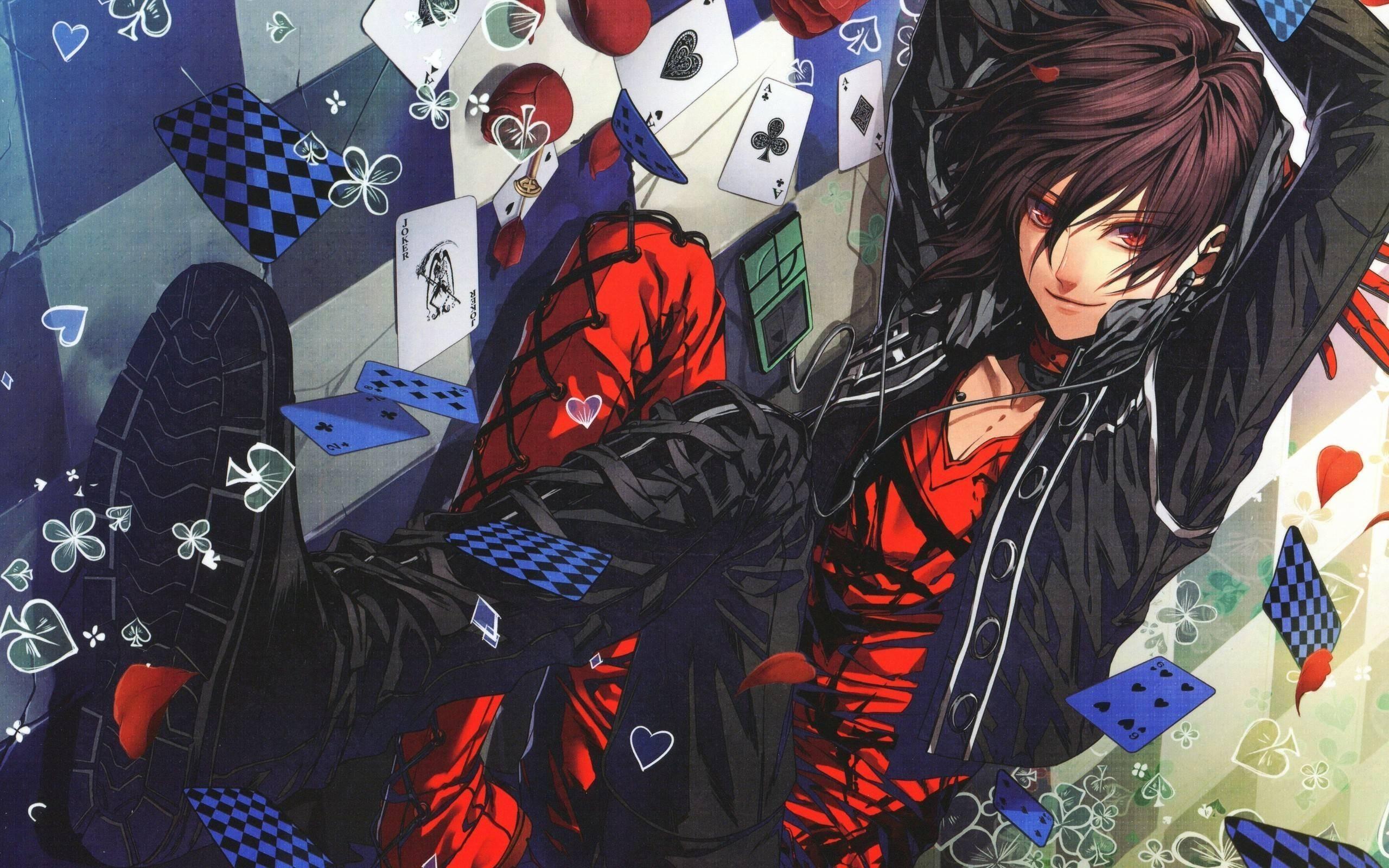 2560x1600 Bad Anime Boys hình nền