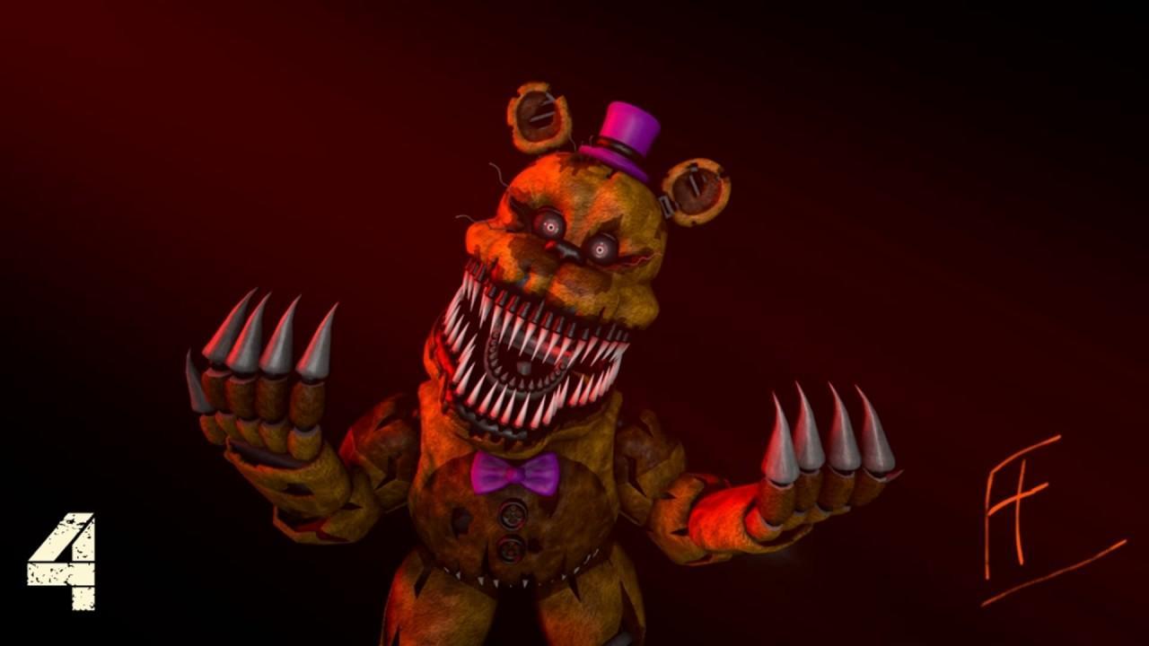 Nightmare Freddy Wallpapers - Top Free Nightmare Freddy ...