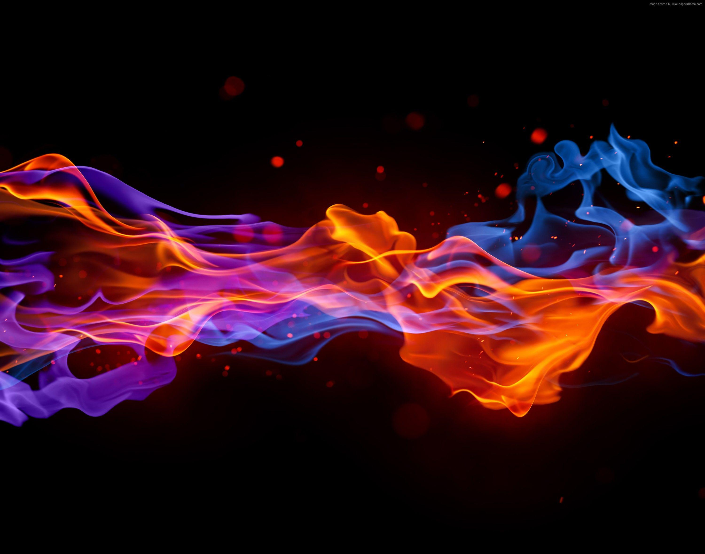 Neon Fire Wallpapers Top Free Neon Fire Backgrounds Wallpaperaccess
