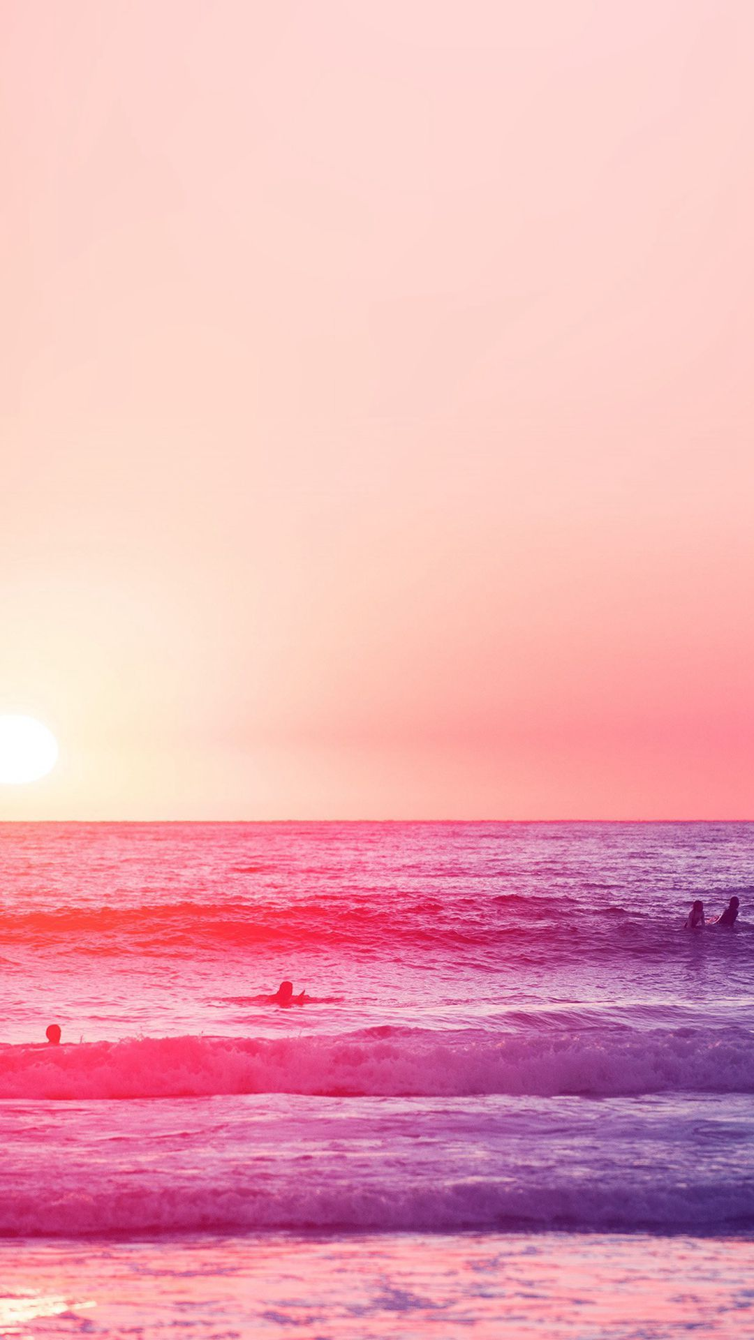 Pink Sea Wallpapers Top Free Pink Sea Backgrounds Wallpaperaccess