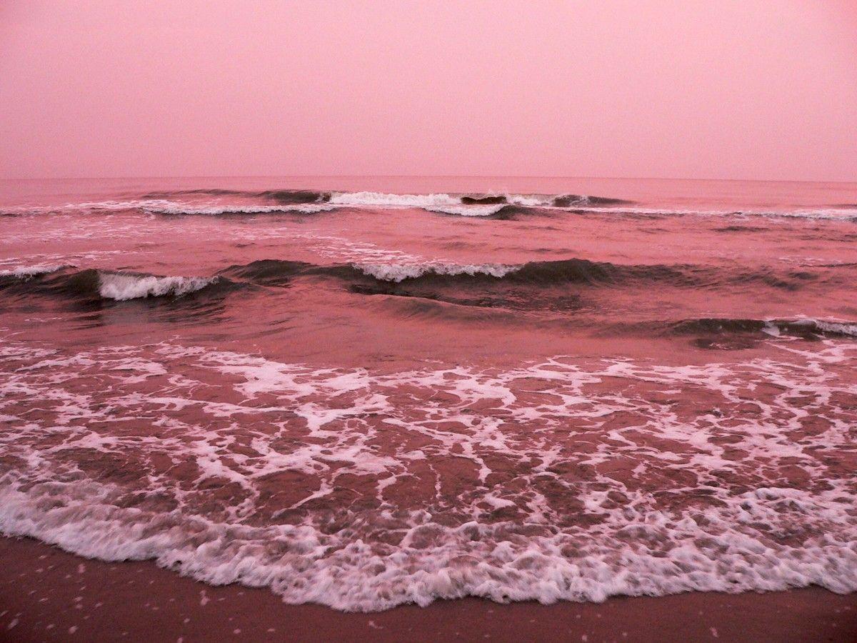 Pink Ocean Desktop Wallpapers Top Free Pink Ocean Desktop Backgrounds Wallpaperaccess