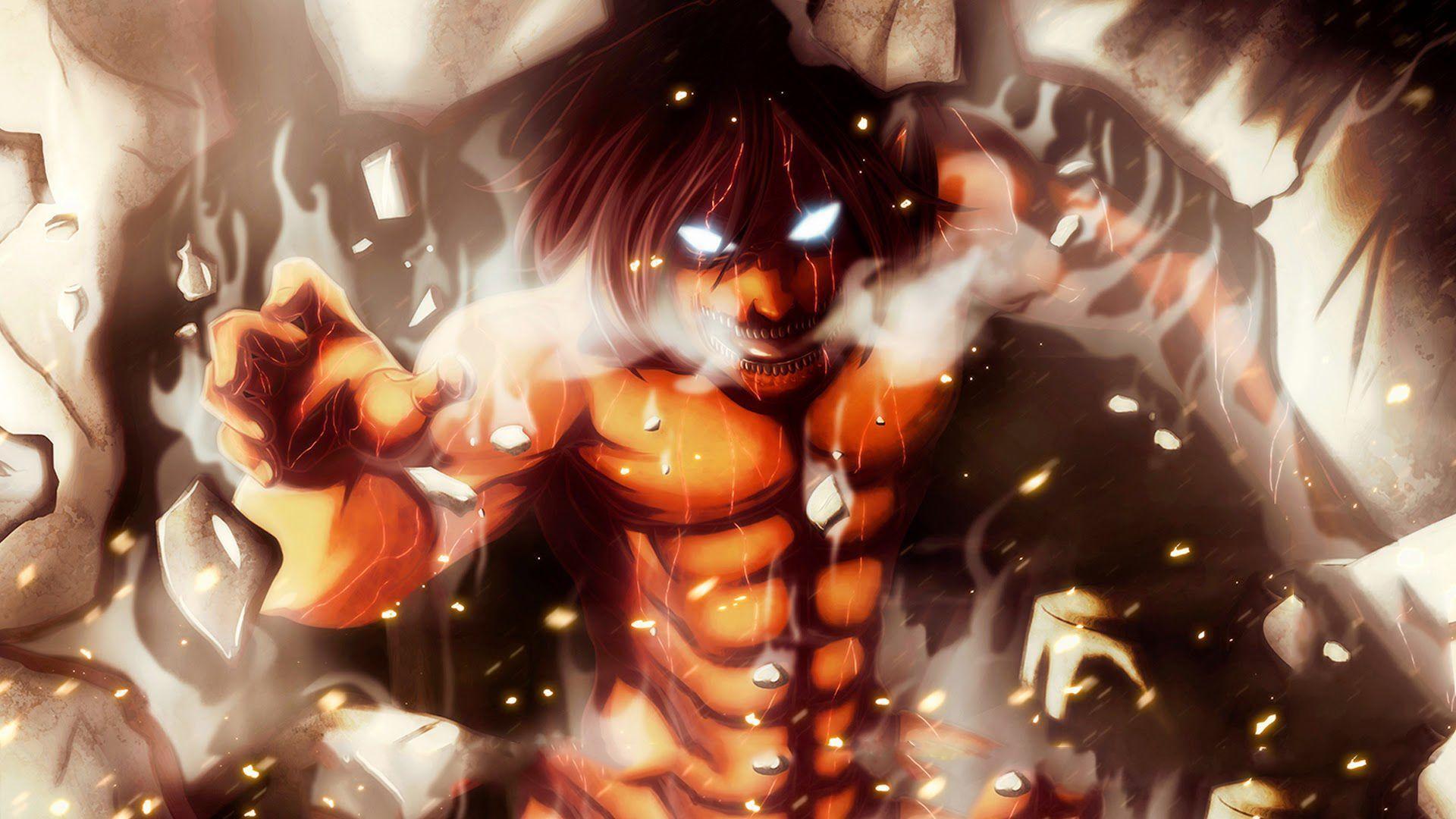 Attack On Titan Eren Wallpapers Top Free Attack On Titan Eren Backgrounds Wallpaperaccess