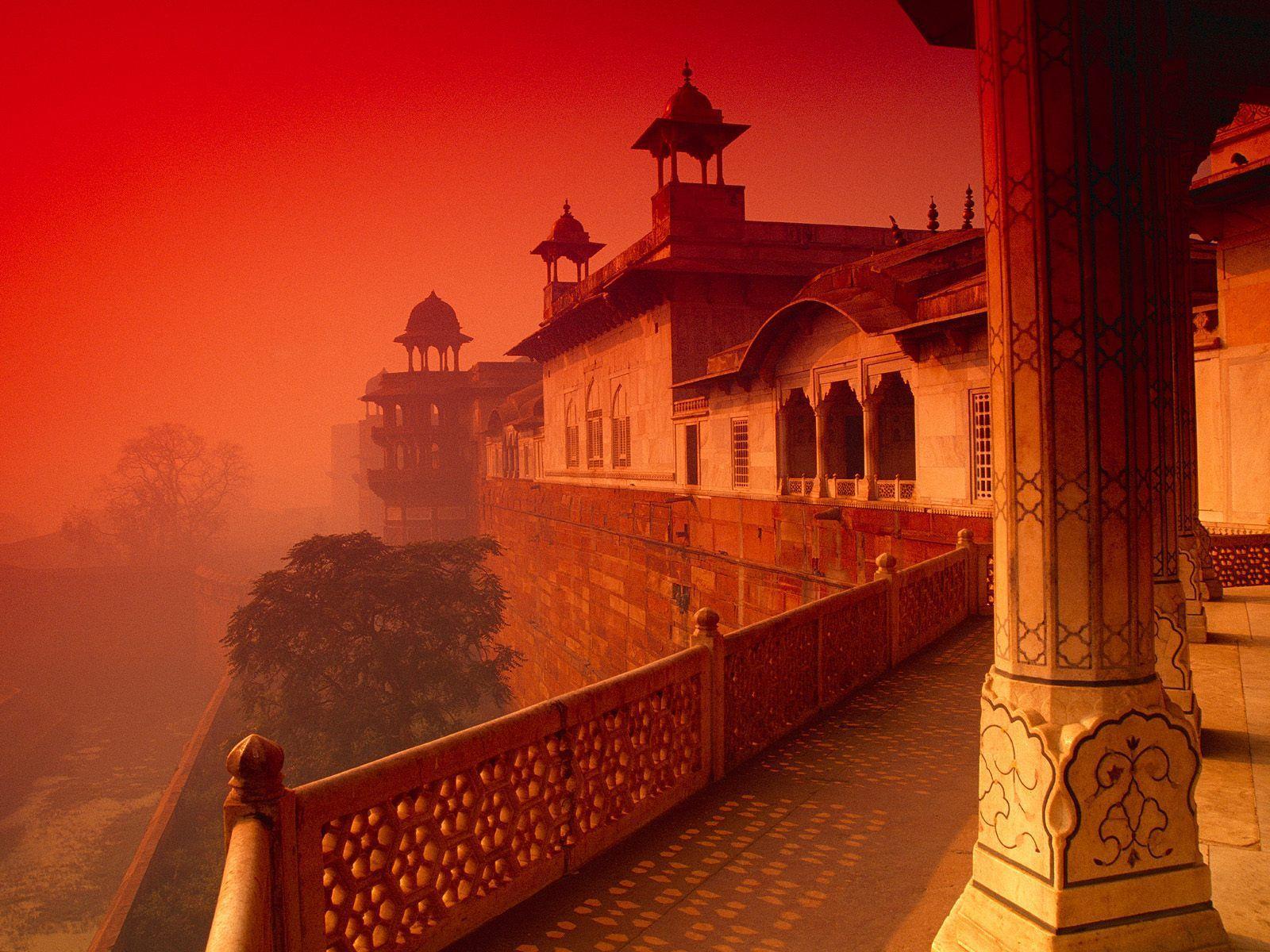 1600x1200 Pháo đài Agra, Hình nền Ấn Độ
