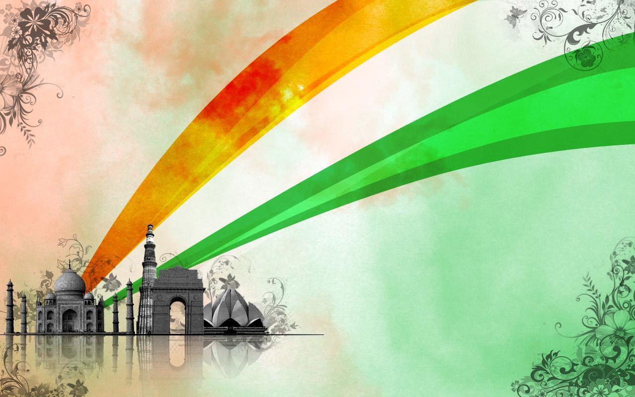 1280x800 ngày độc lập Ấn Độ hình nền 20