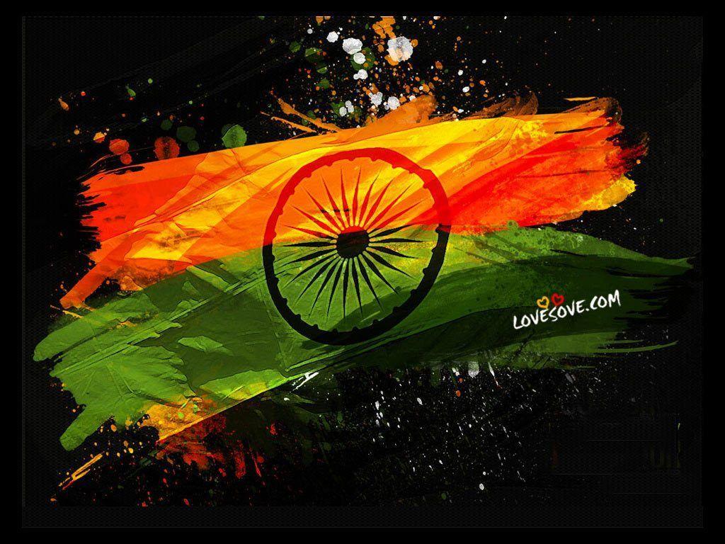 Hình nền cờ Ấn Độ 1024x768 - Hình ảnh HD [Free Download]