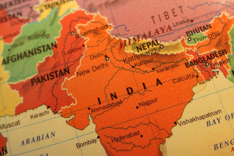 1500x1000 India on the Globe hình nền