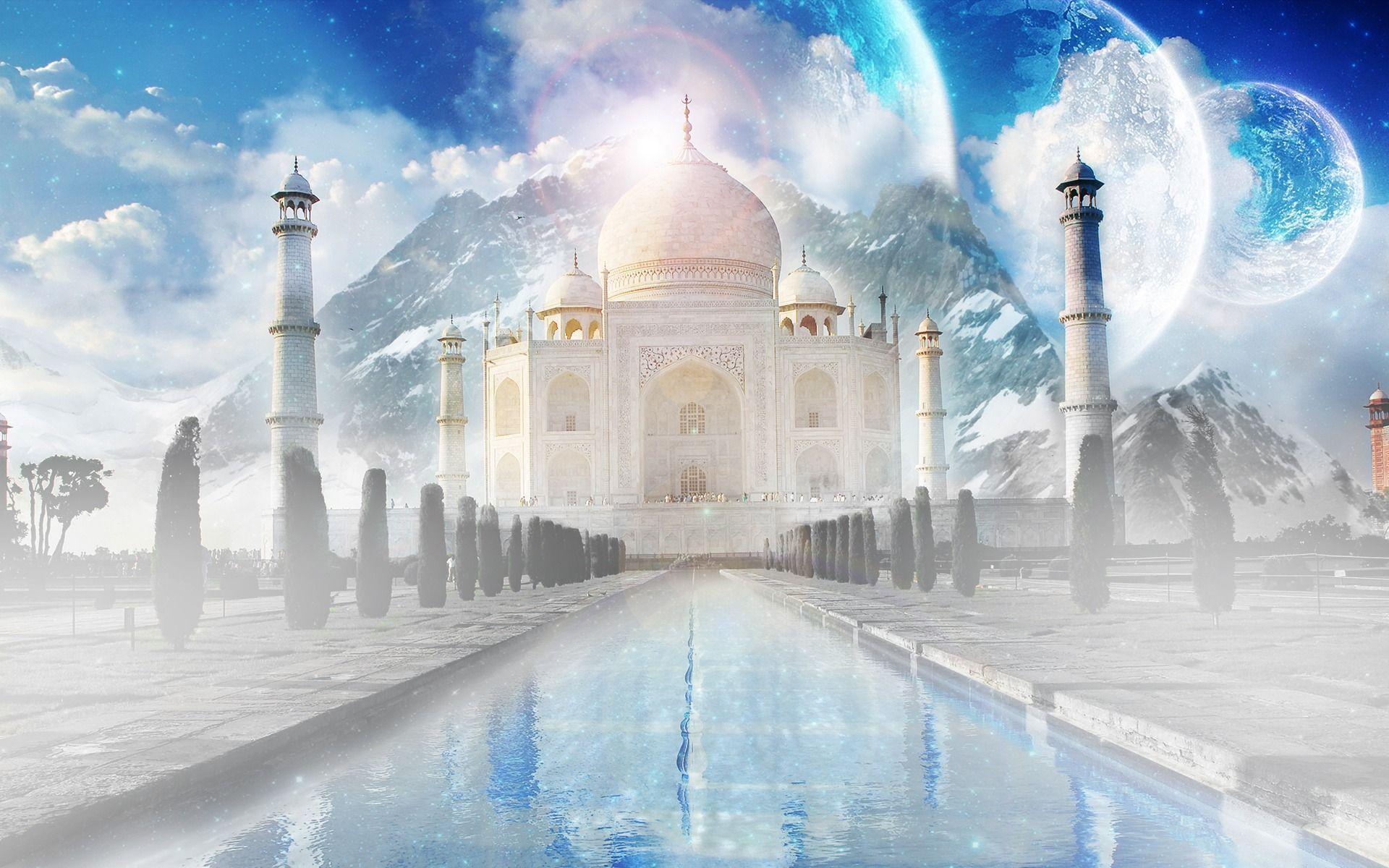 1920x1200 Hình nền Taj Mahal Hình nền Thế giới Ấn Độ ở định dạng jpg