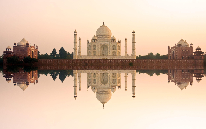 2880x1800 Taj Mahal India Hình nền 5K