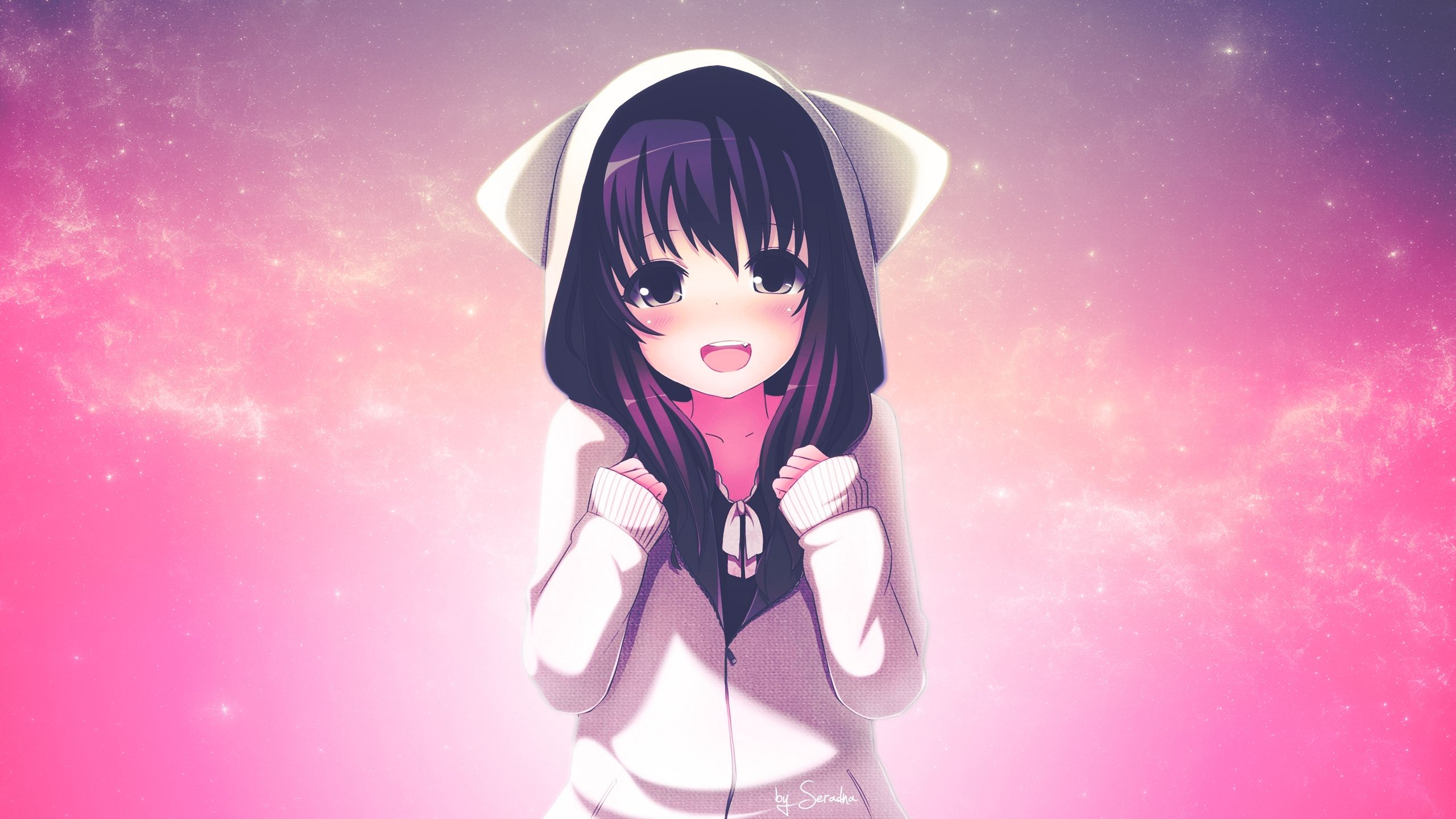 Anime Cute Kawaii Wallpaper HD 4k