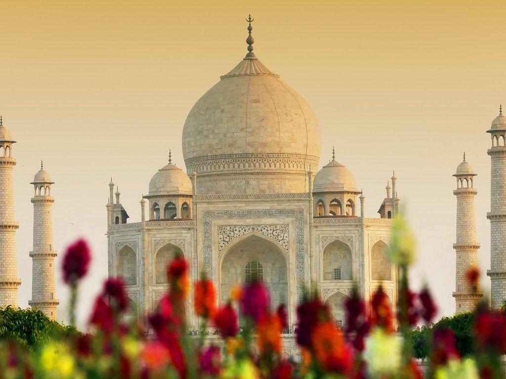 1024x768 Hình nền Taj Mahal, Agra, Ấn Độ, độ phân giải cao, 4K, Thế giới