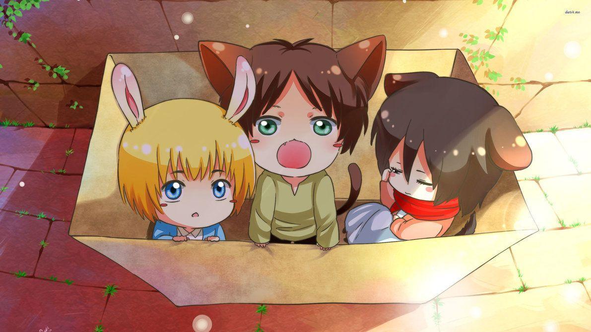 Anime Cute Kawaii Wallpaper HD 4k