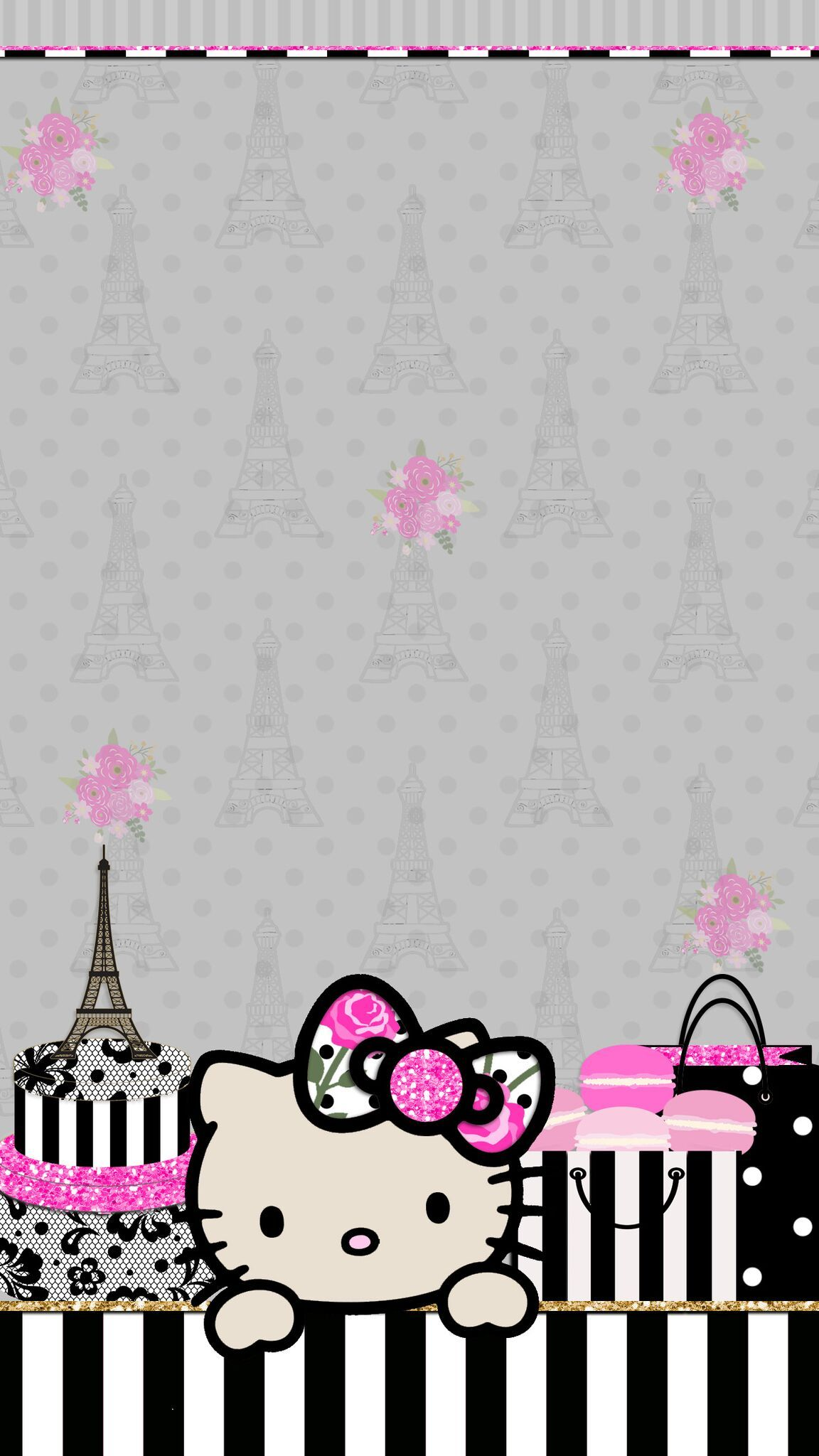 Cute Hello Kitty Wallpapers Top Free Cute Hello Kitty Backgrounds Wallpaperaccess
