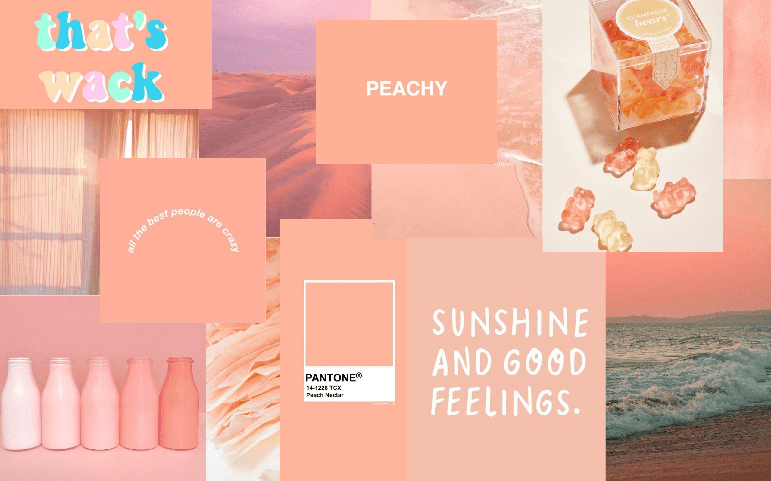 Peach Aesthetic Desktop Wallpapers Top Free Peach Aesthetic Desktop Backgrounds Wallpaperaccess