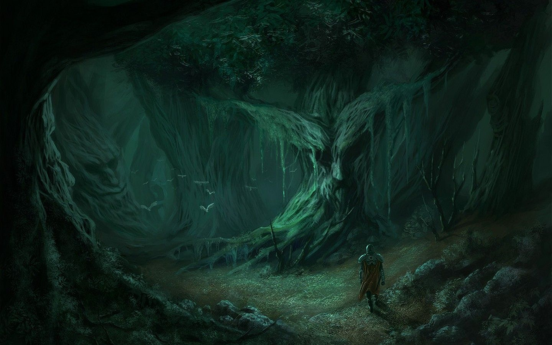 1440x900 Hiệp sĩ rừng xanh đáng sợ thời Trung cổ