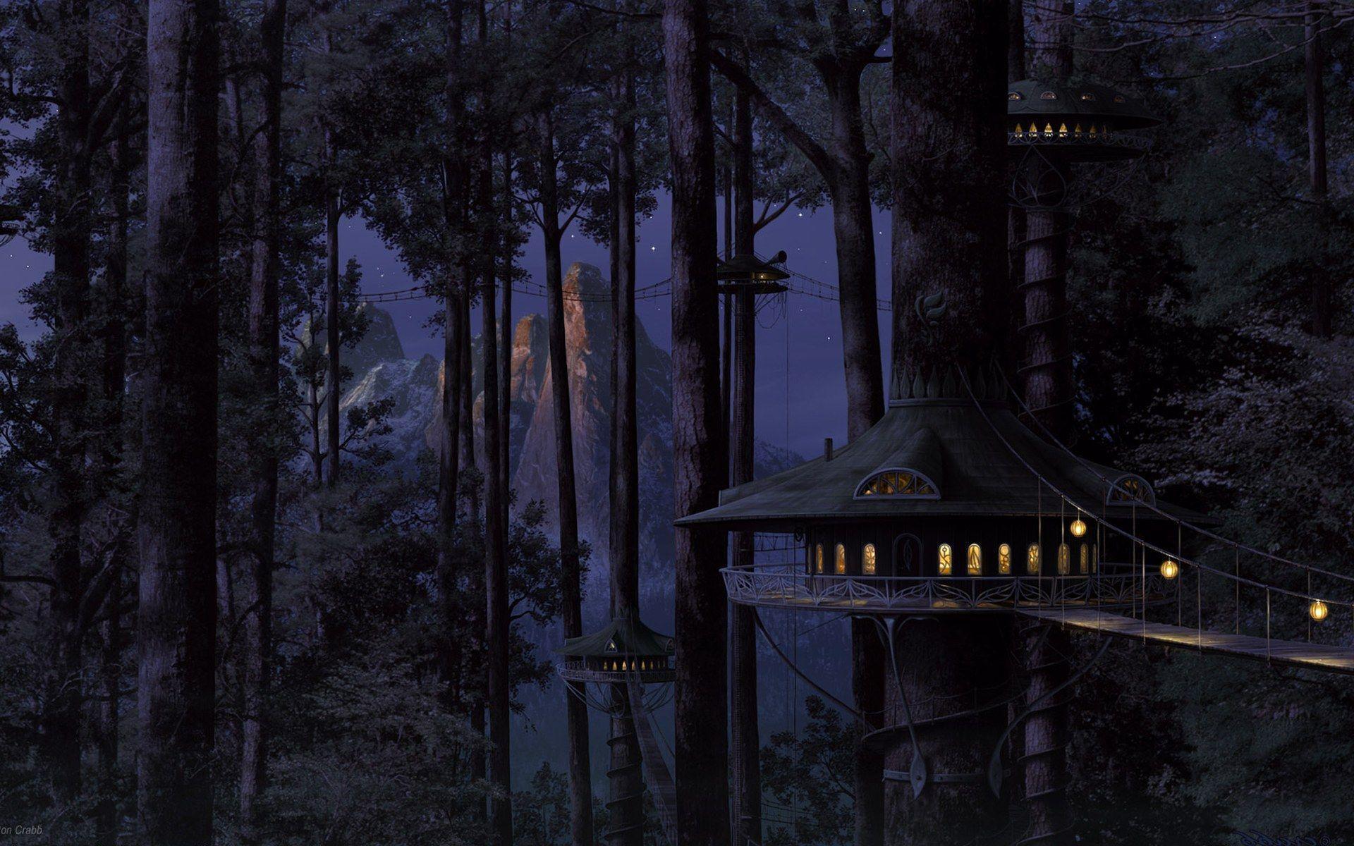Hình nền rừng 1920x1200 cho gia đình