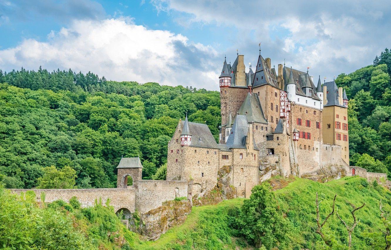Rừng hình nền 1332x850, Lâu đài, Đức, Kiến trúc, Đức, Lâu đài, xưa, xưa, Trung cổ, Hình ảnh Eltz cho máy tính để bàn, phần город