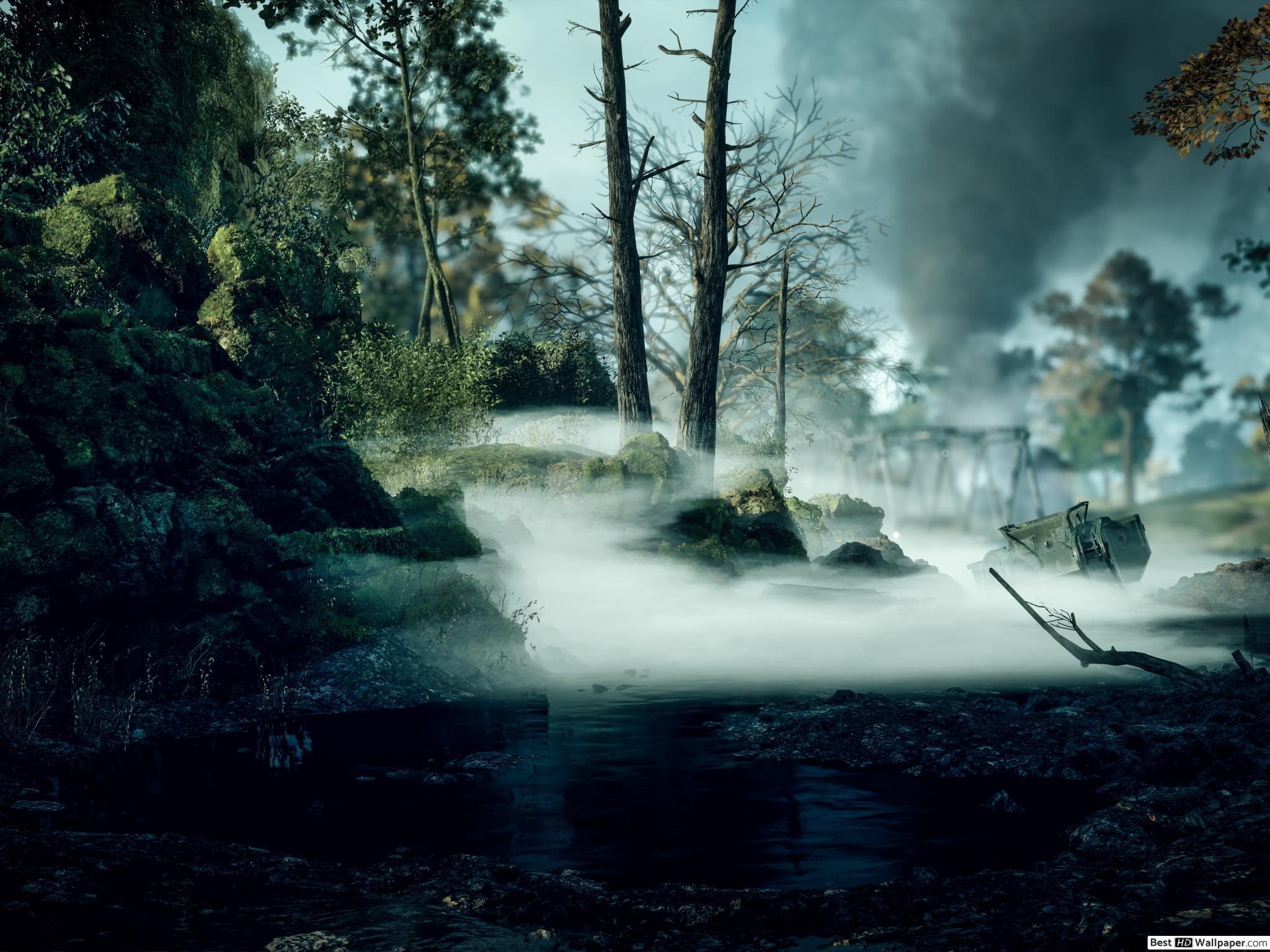 2048x1536 Trò chơi Battlefield 1 - tải xuống hình nền HD rừng