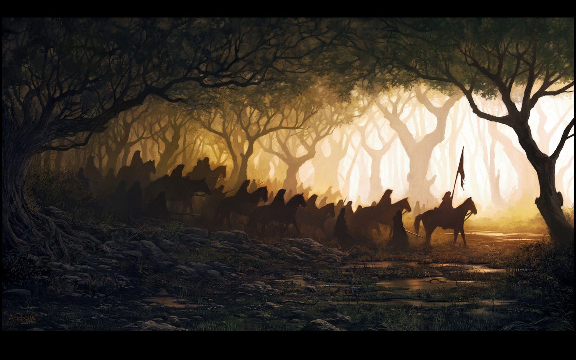1920x1200 Hình nền ngựa - Hình nền ngựa trong rừng - Hình nền HD 95837