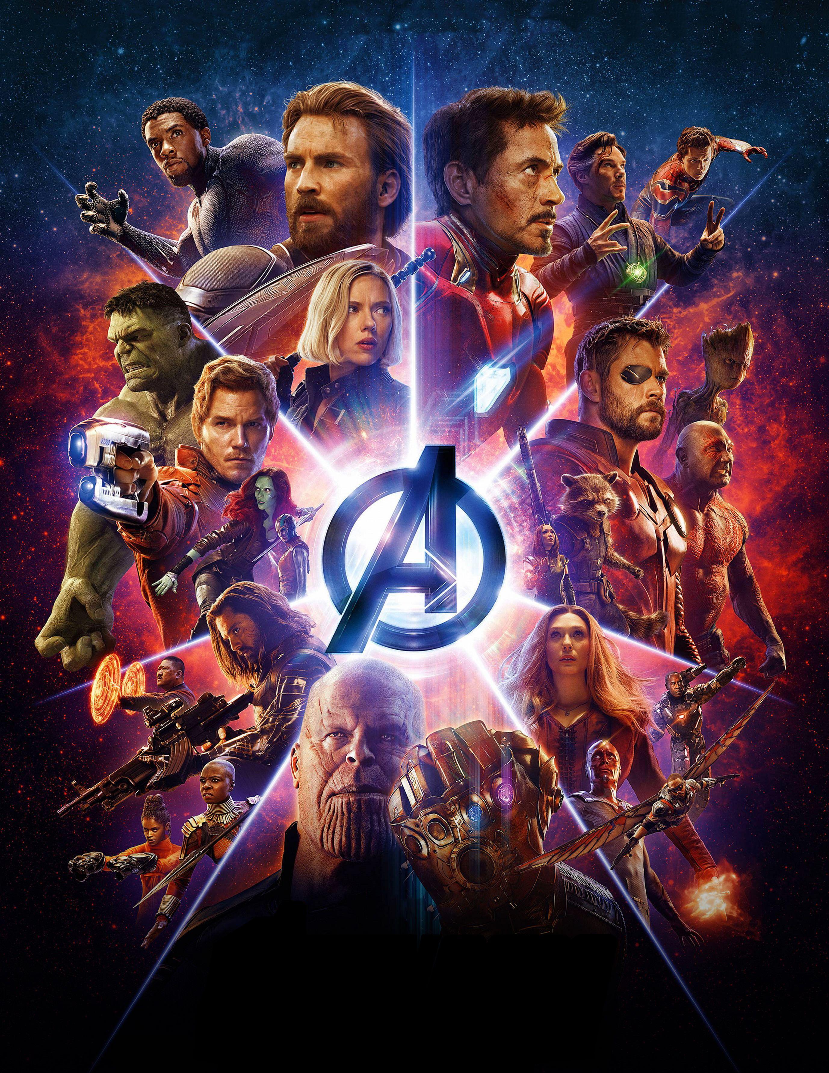 58 best free avengers infinity war poster wallpapers wallpaperaccess