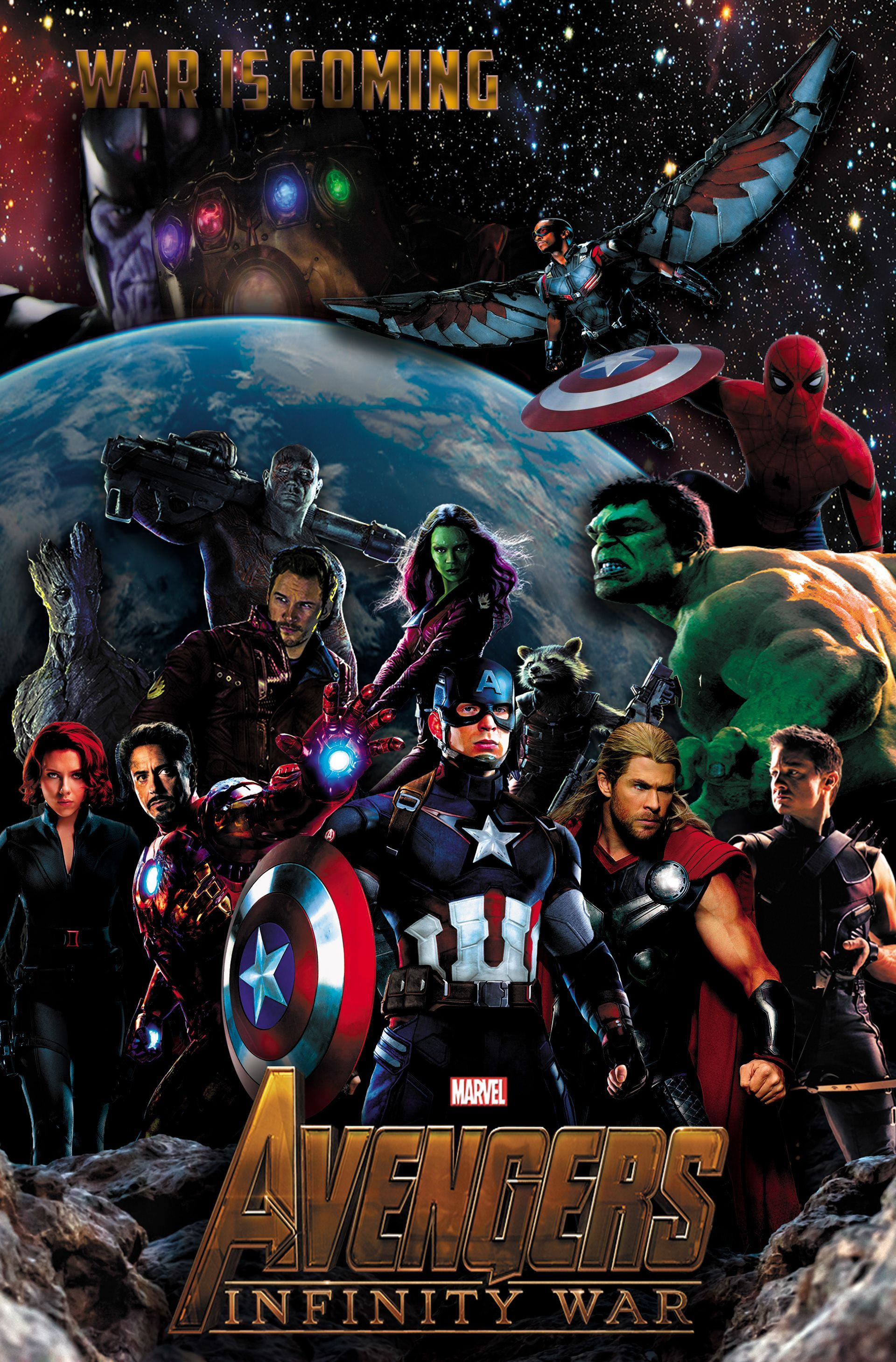 "1280x768 Avengers Infinity War 2018 All Characters Poster wallpapers ..."">"