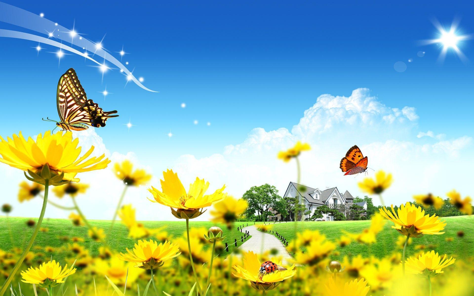 1920x1200 Tải xuống Hình nền, Tải xuống Hình nền thiên nhiên hoa bướm mùa hè kỹ thuật số hình nền 1920x1200 Hình nền –Tải xuống Hình nền Miễn phí