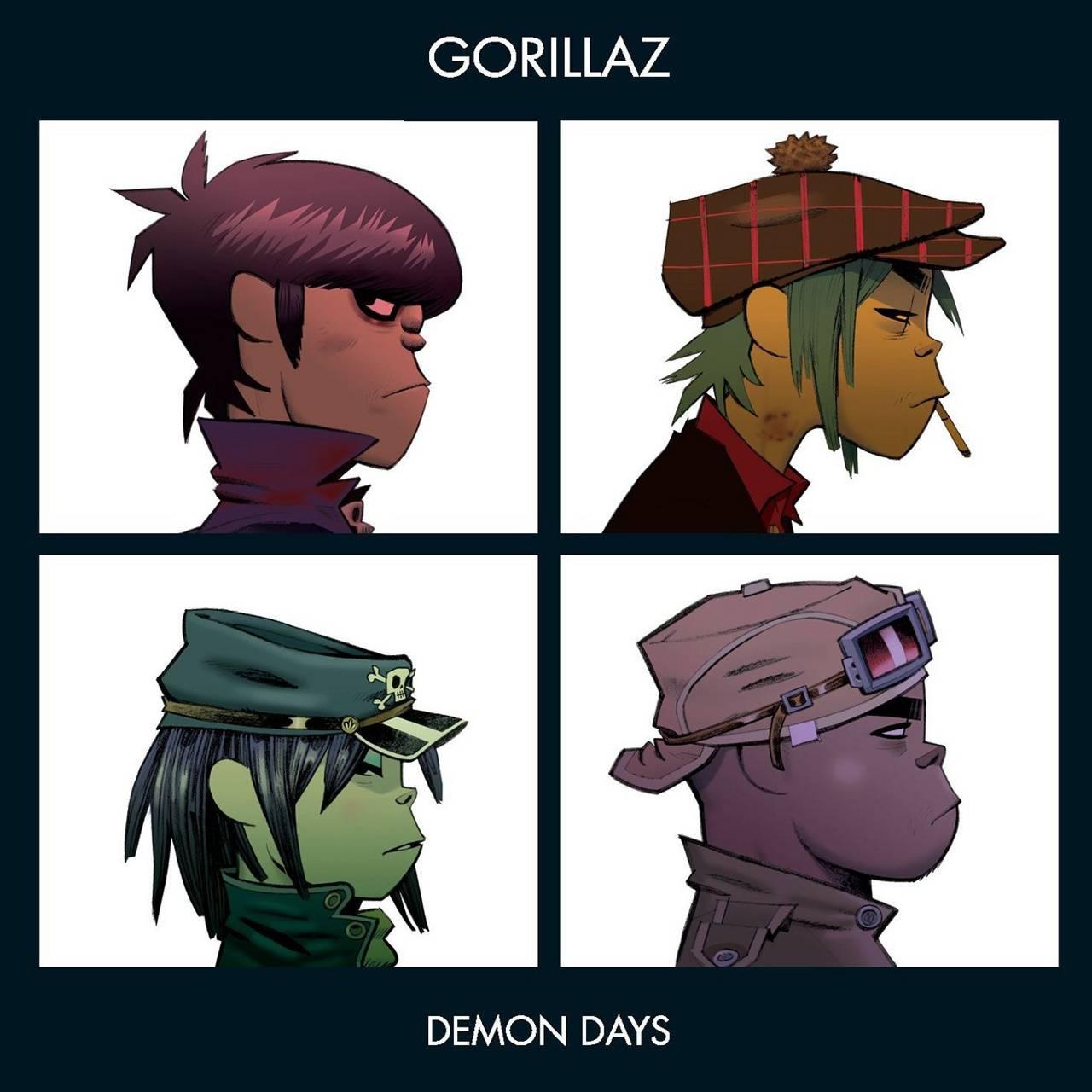 Gorillaz Demon Days Wallpaper