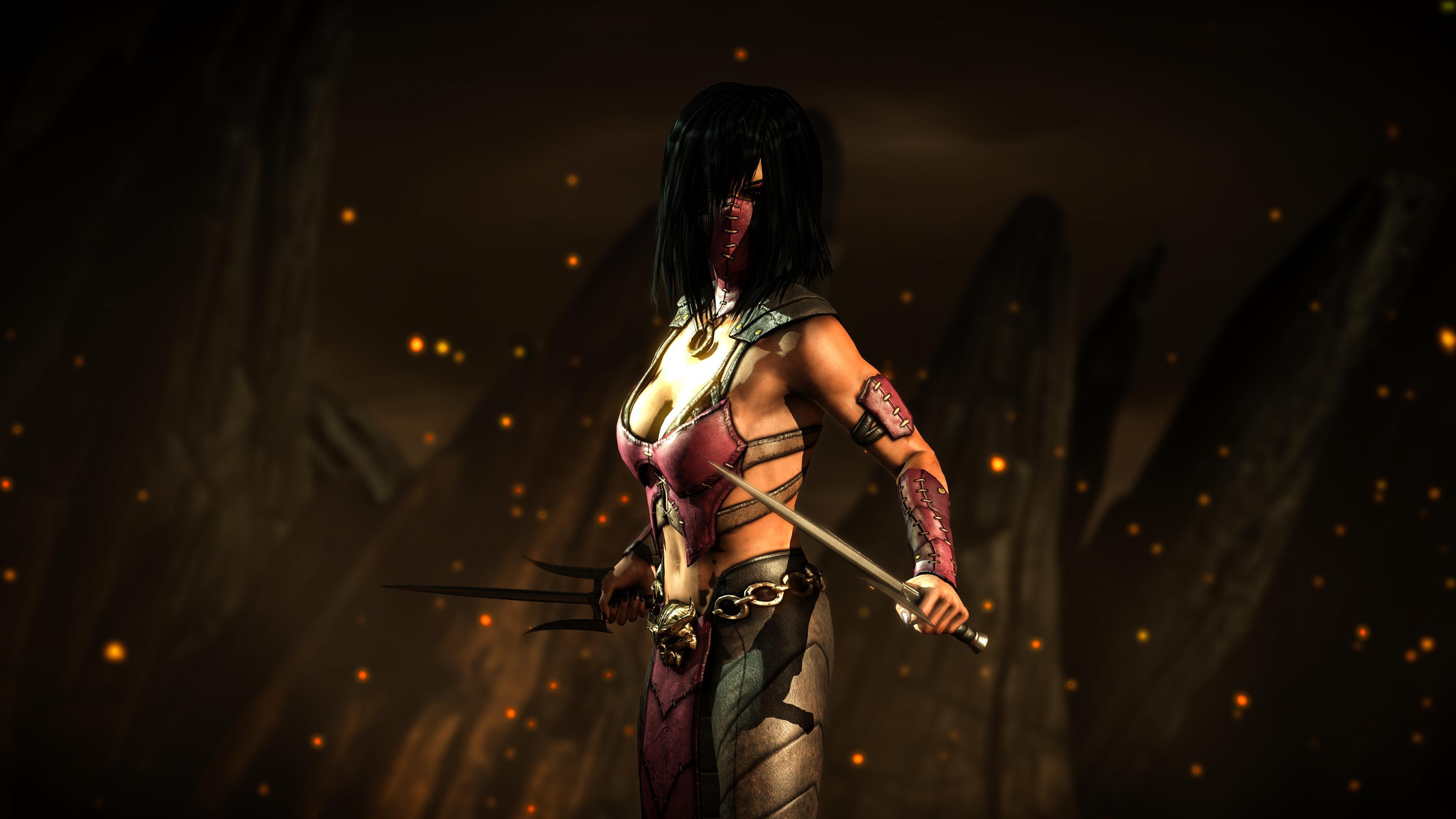 X mileena kombat Mortal Kombat