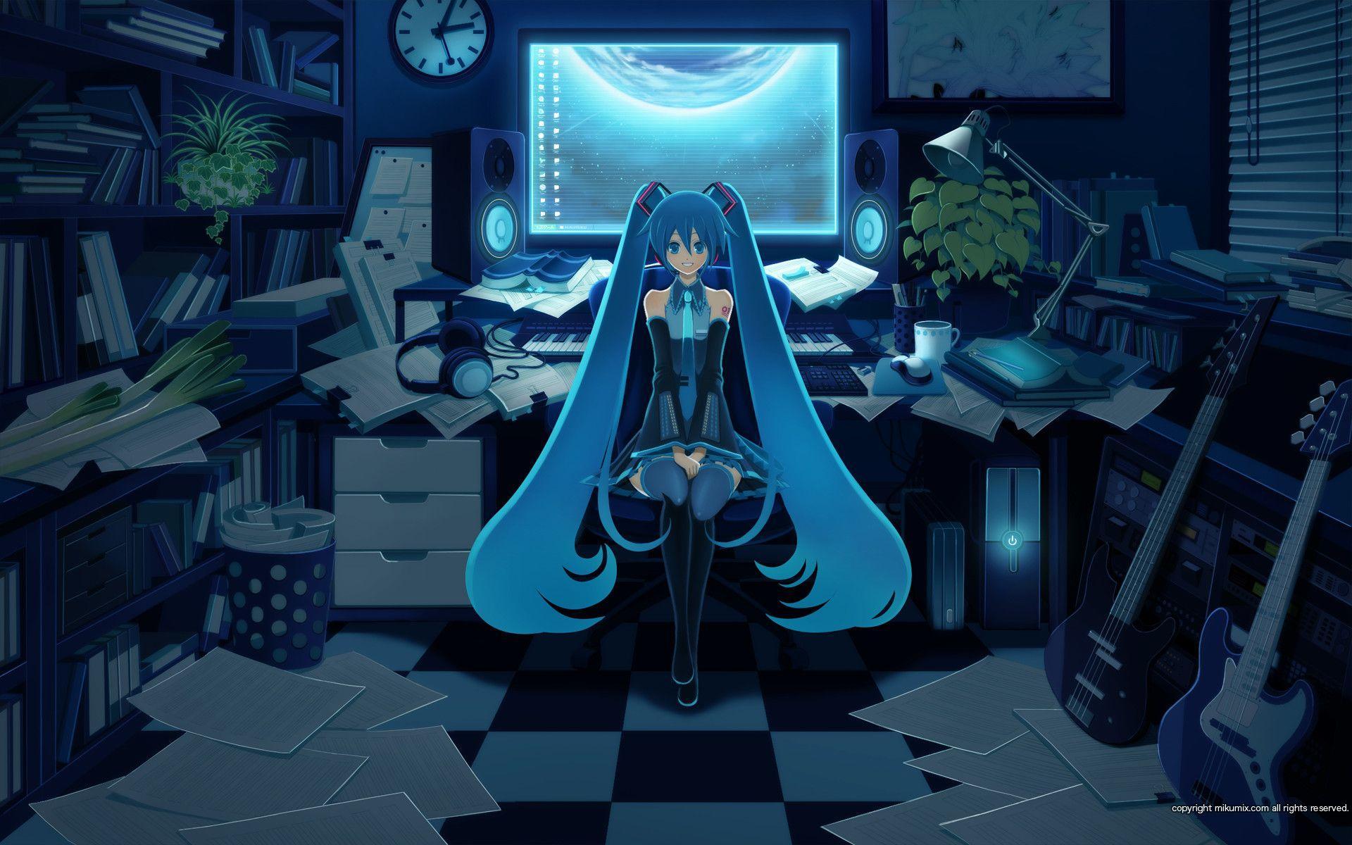 Gamer kawaii anime girl Play Kawaii